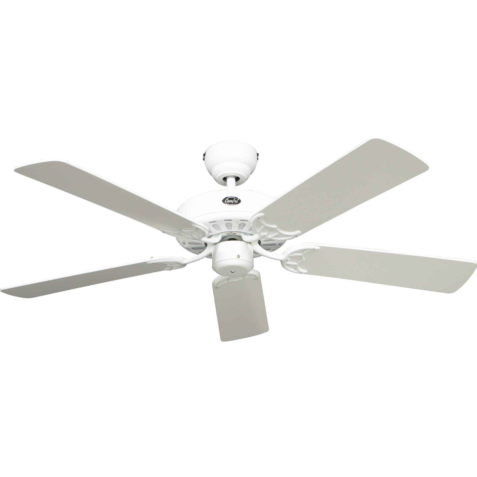 Ventilador techo blanco palas transparentes precios y for Oferta ventilador techo