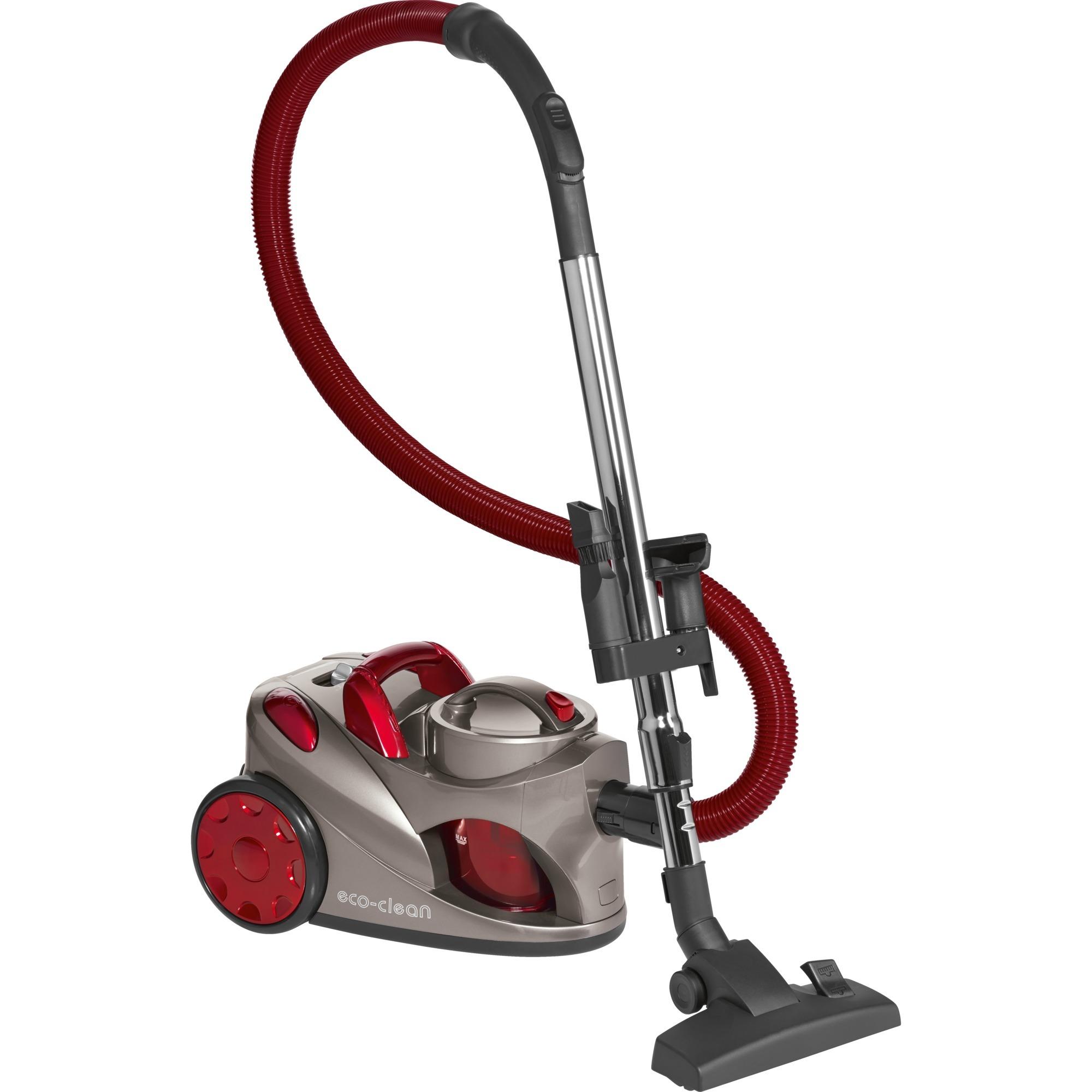 BS 1294 700 W A Aspiradora cilíndrica 1,25 L Negro, Rojo, Aspiradora de suelo