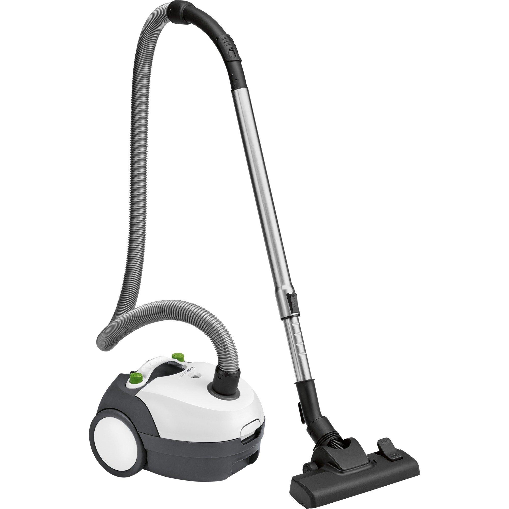 BS 1300 700 W A Aspiradora cilíndrica Negro, Blanco, Aspiradora de suelo