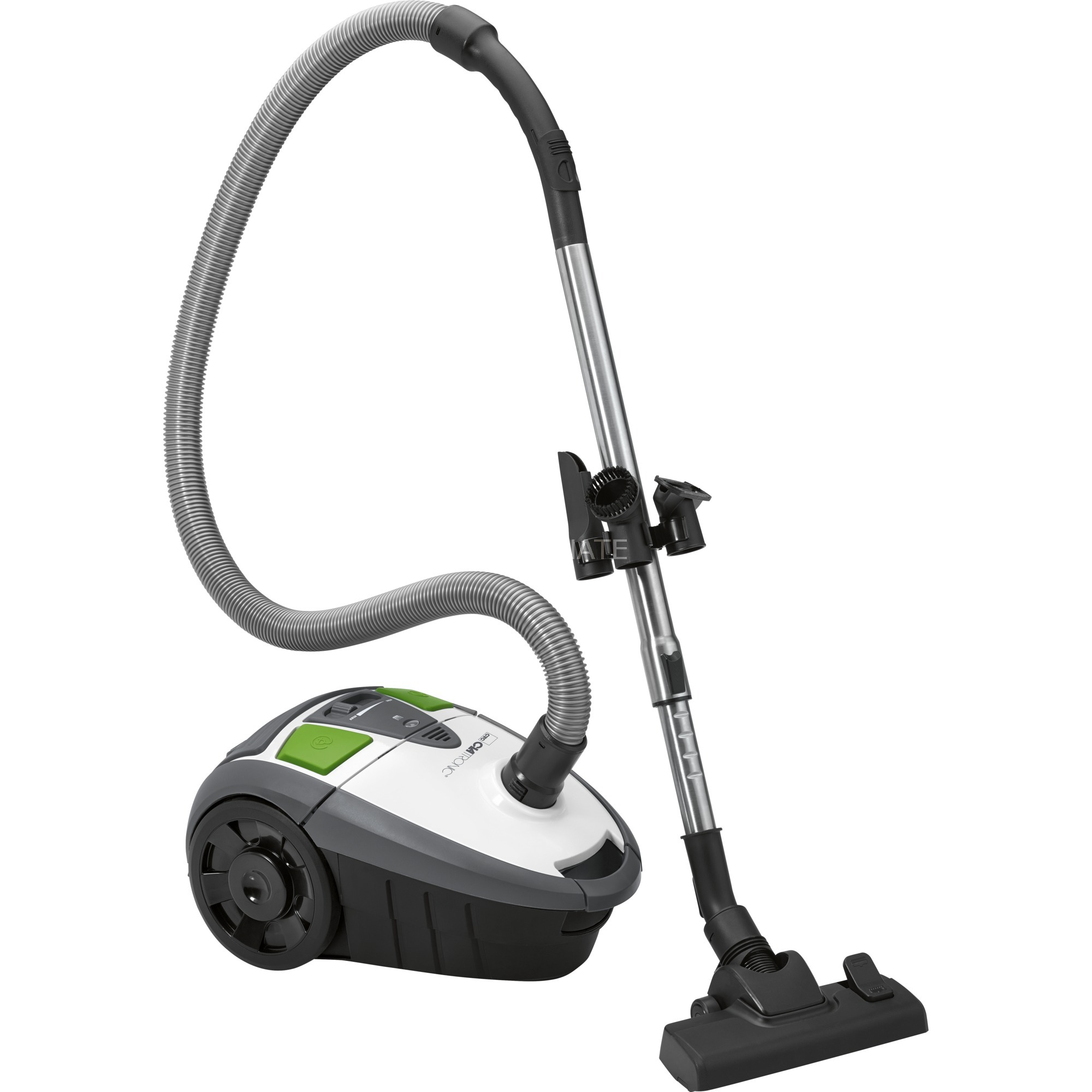 BS 1301 700 W A Aspiradora cilíndrica Negro, Verde, Acero inoxidable, Blanco, Aspiradora de suelo