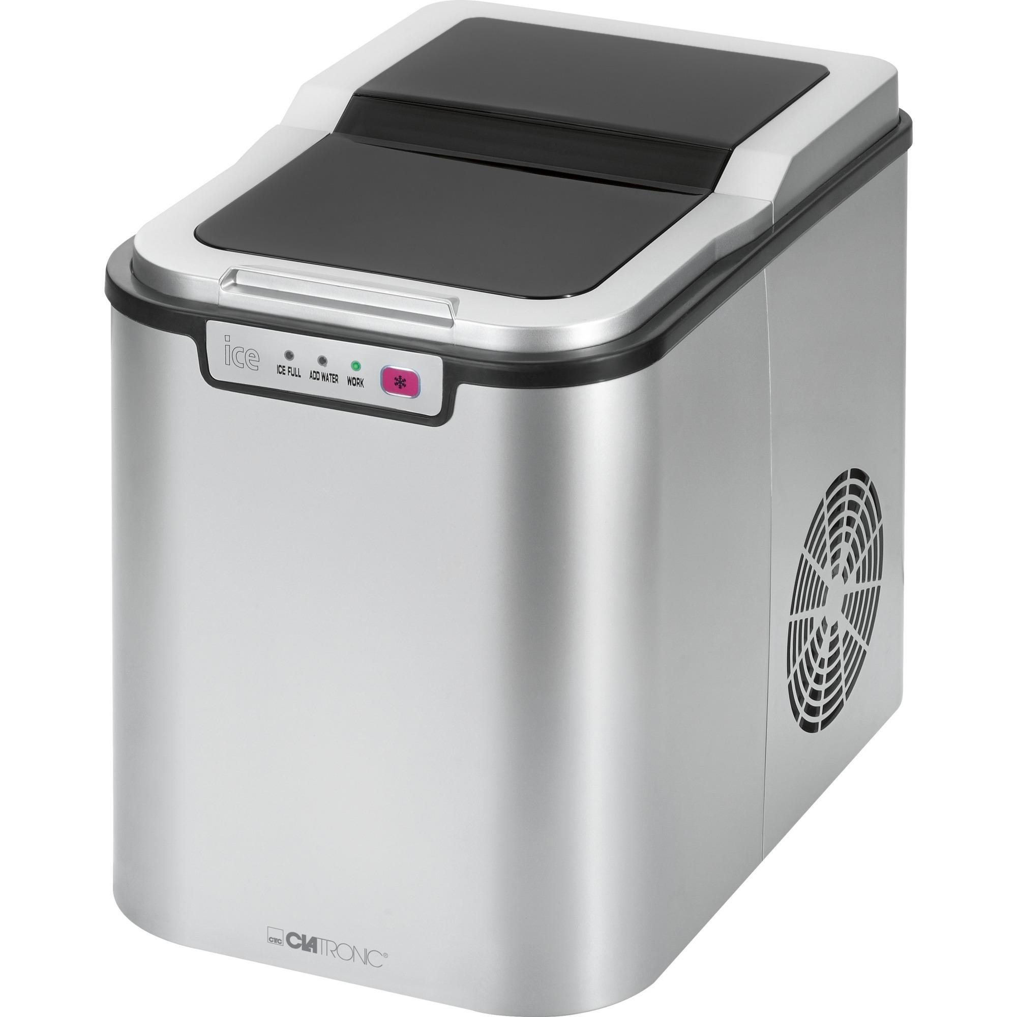 EWB 3526 máquina de cubo de hielo 150 W 15 kg/24h Plata, Preparador de cubitos de hielo