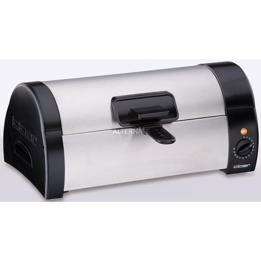3080 Negro, Acero inoxidable horno tostador, Tostadora