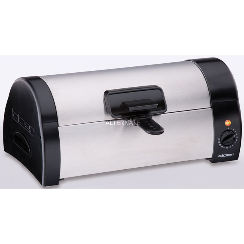 3080 horno tostador Negro, Acero inoxidable, Tostadora