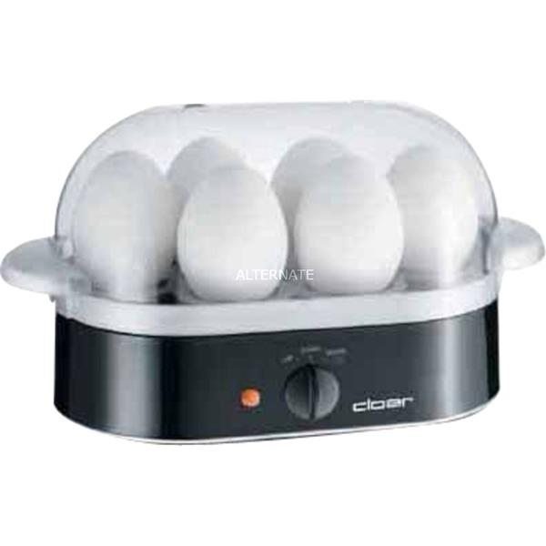 6090 6eggs 400W Negro cuecehuevos, Hervidor de huevos