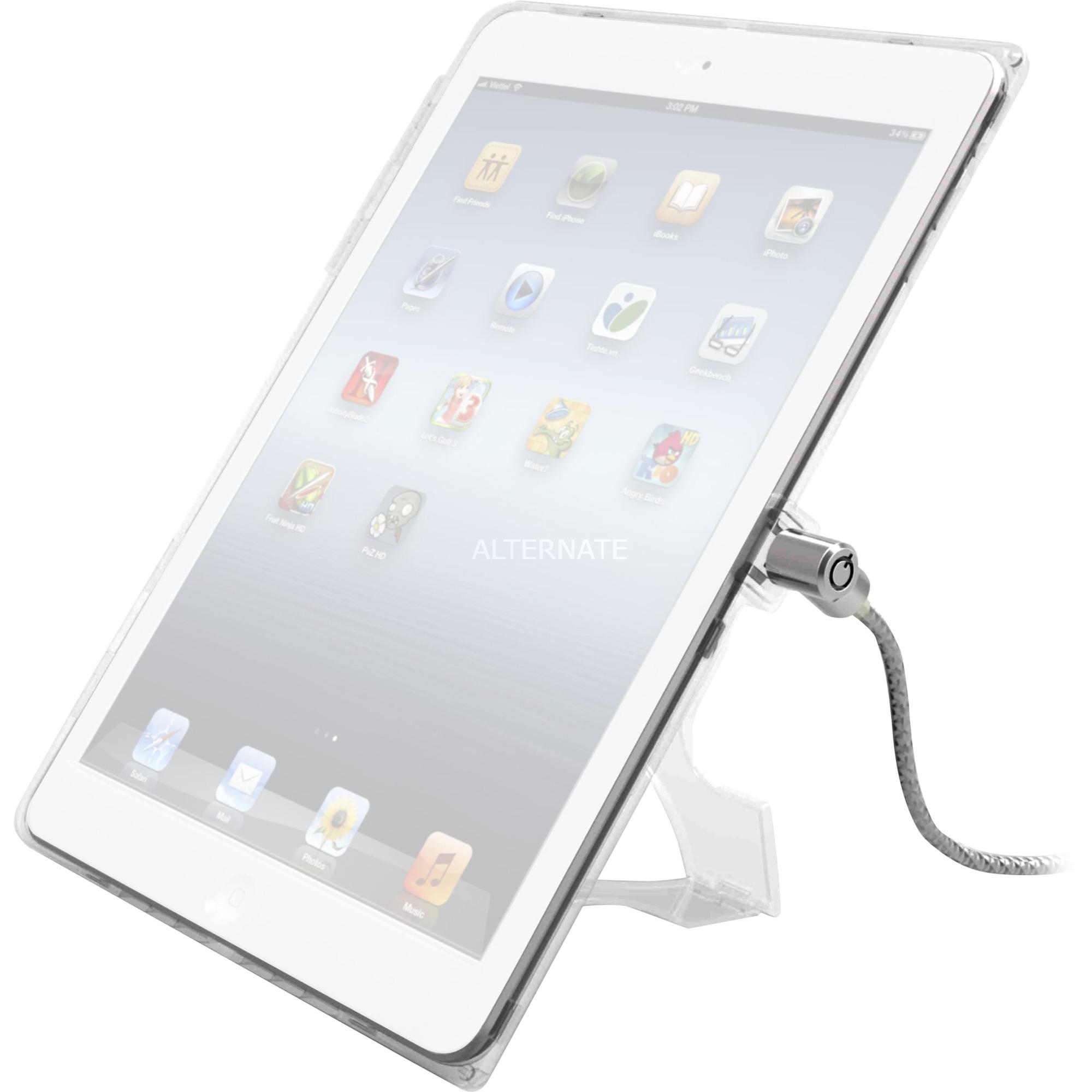 """IPADAIRCB funda para tablet 24,6 cm (9.7"""") Carcasa rígida Blanco, Seguridad"""
