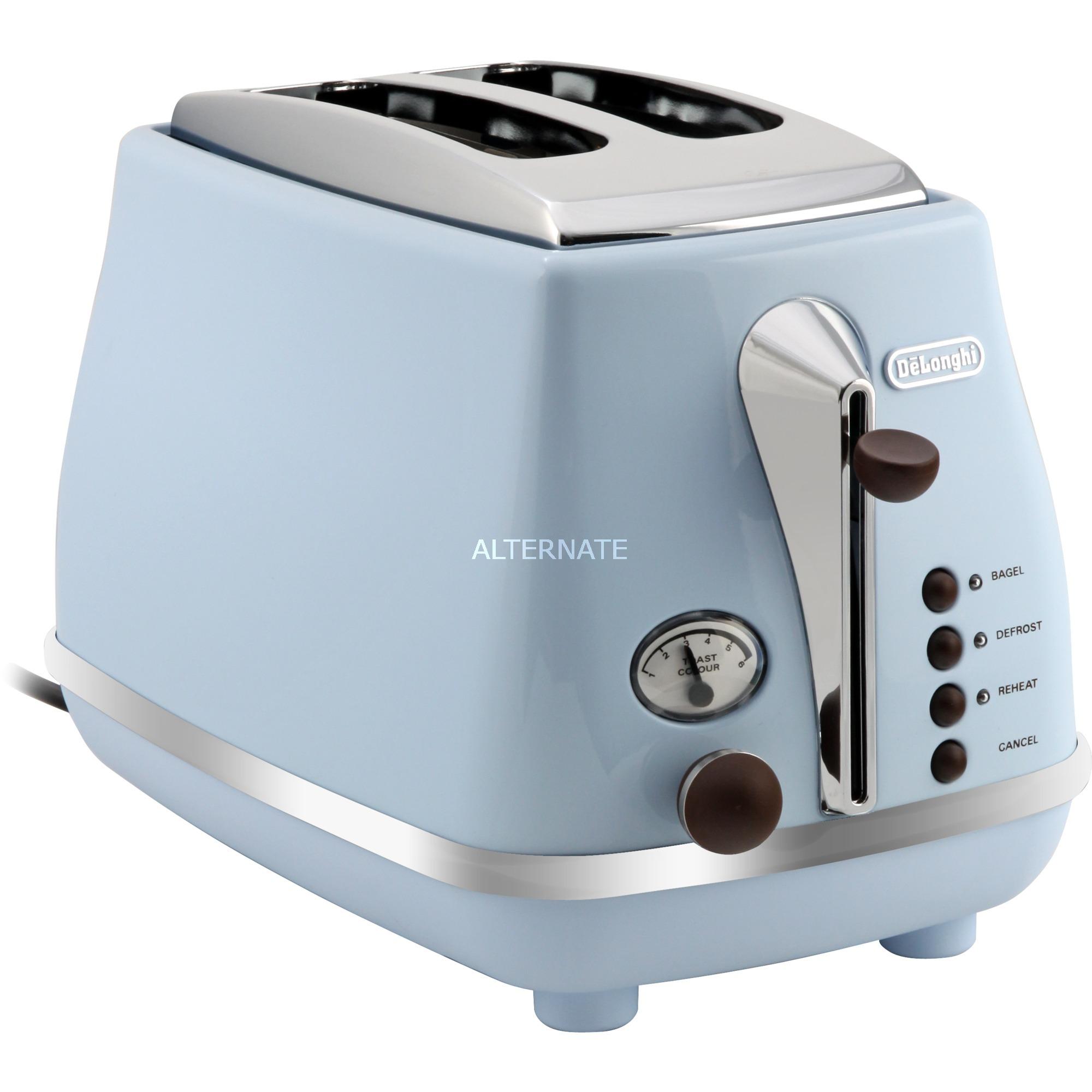 CTOV 2103.AZ 2slice(s) 900W Azul tostadora