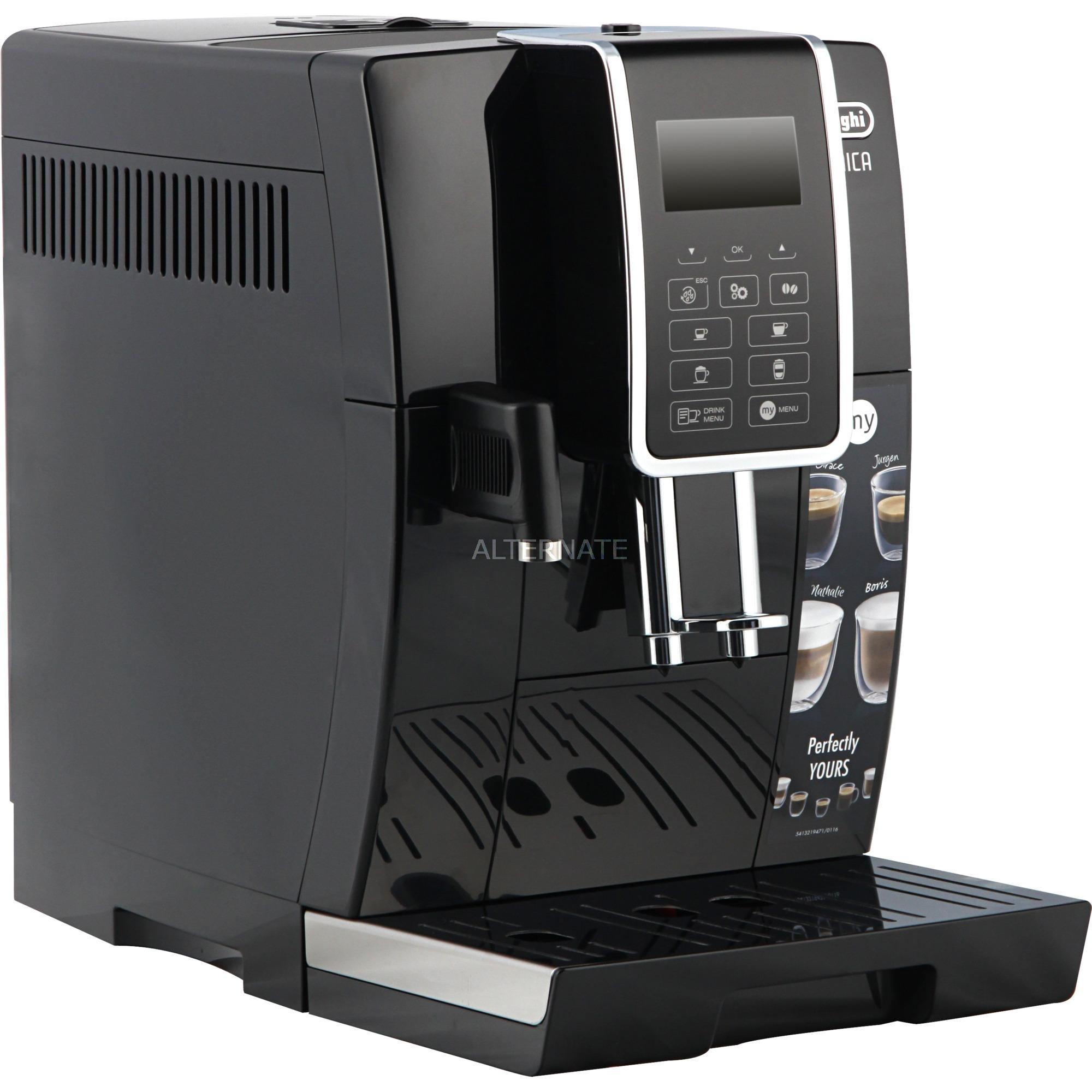 DINAMICA ECAM 350.55.B Independiente Máquina espresso Negro Totalmente automática, Superautomática