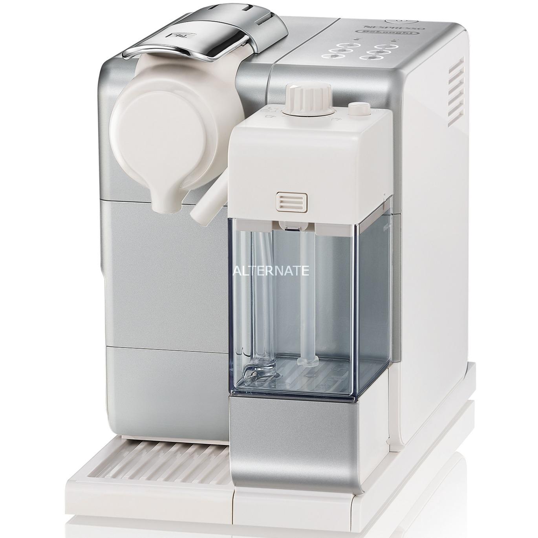 Dedica Style Lattisima Touch Independiente Máquina de café en cápsulas Silver 0,9 L, Cafetera de cápsulas