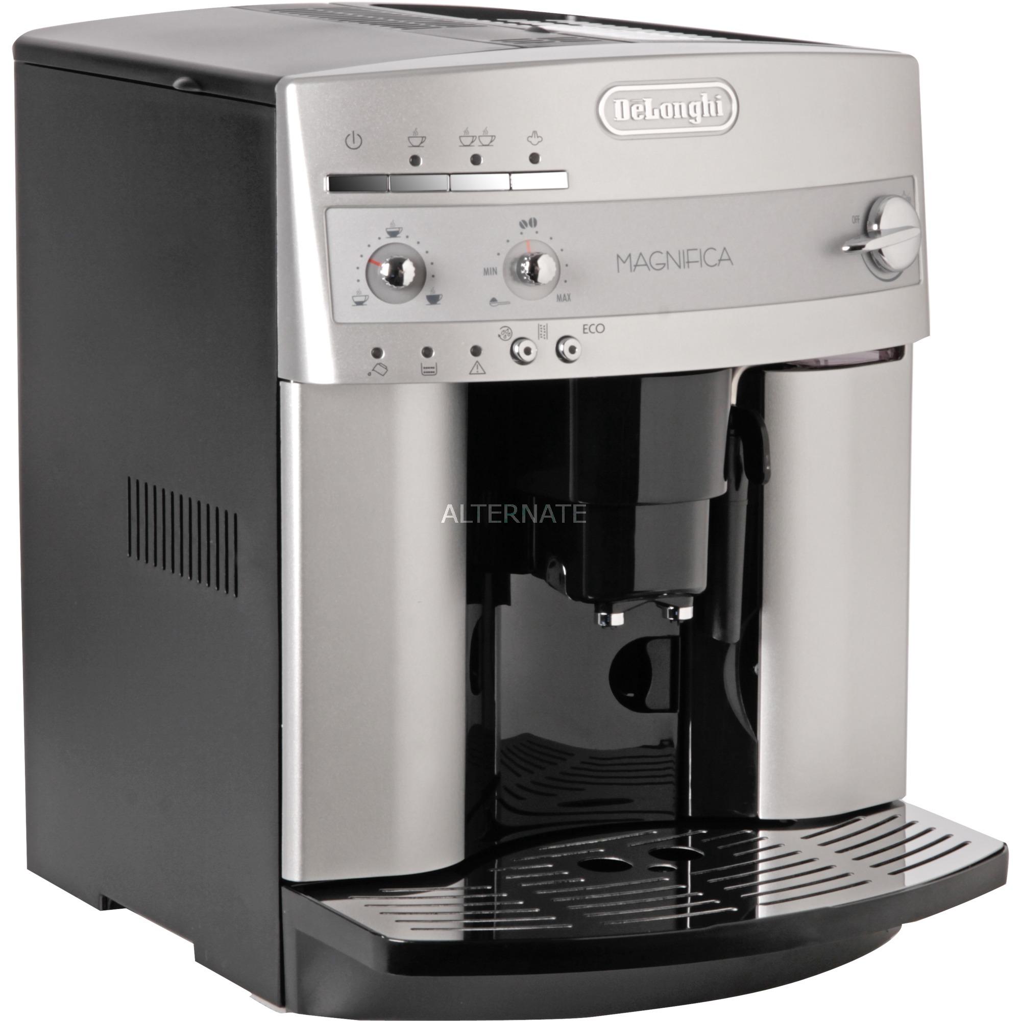 ESAM 3200.S Independiente Totalmente automática Máquina espresso 1.8L 14tazas Plata, Superautomática