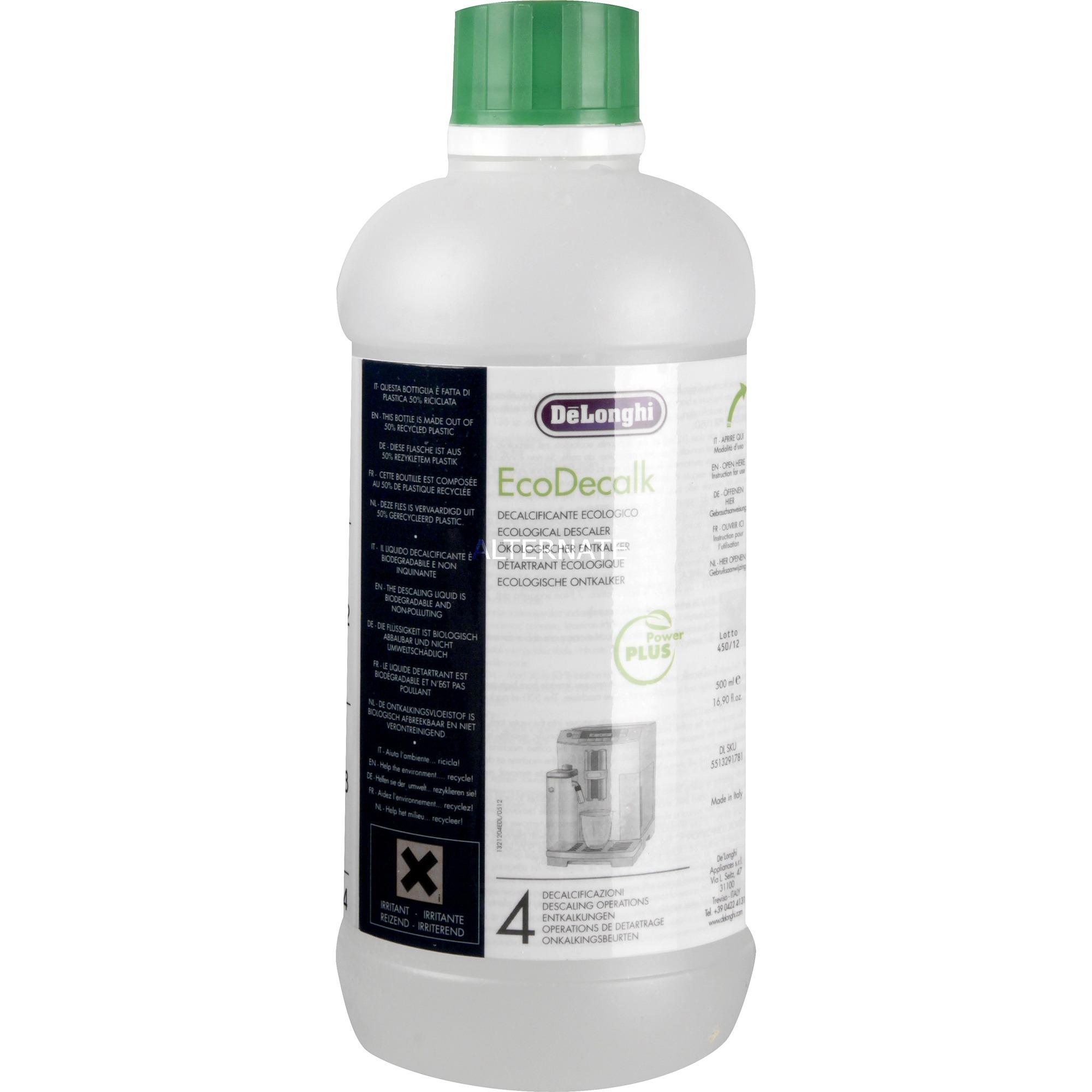 EcoDecalk descalers Electrodomésticos 500 ml, Descalcificador