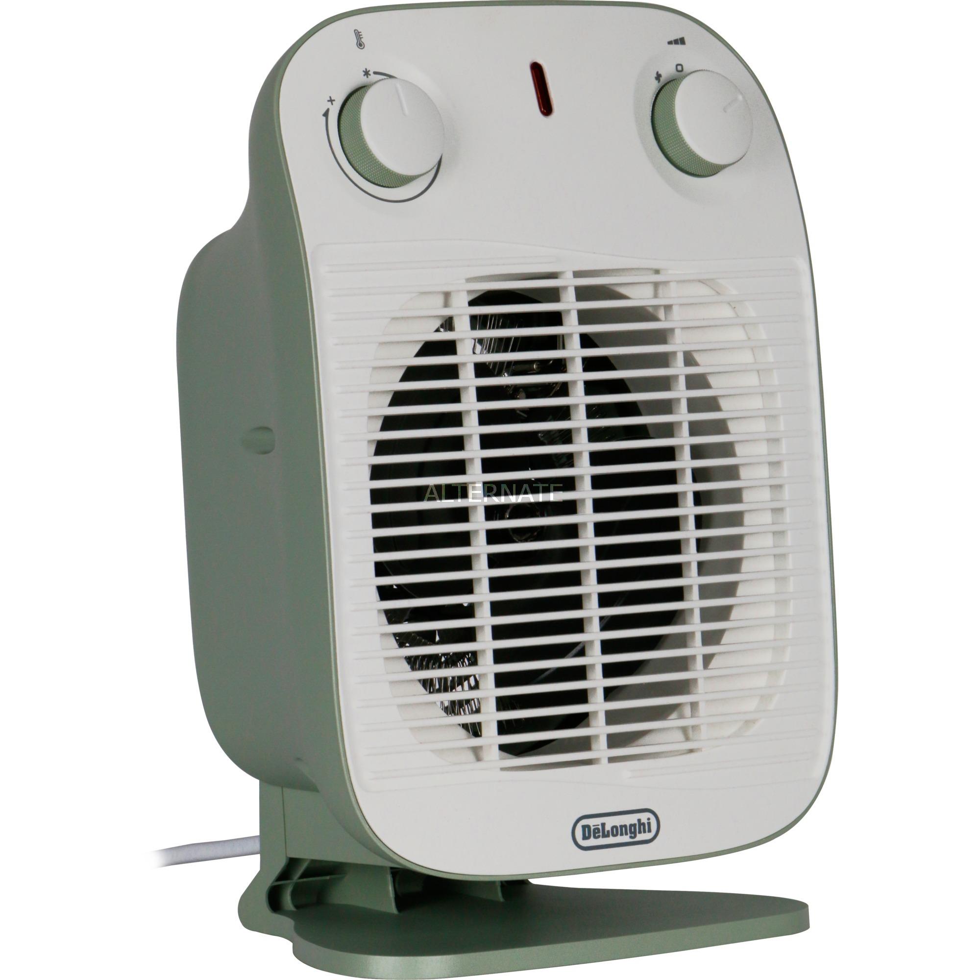 HFS50B20.GR Interior Verde 2000W Calentador eléctrico de ventilador, Termoventiladores