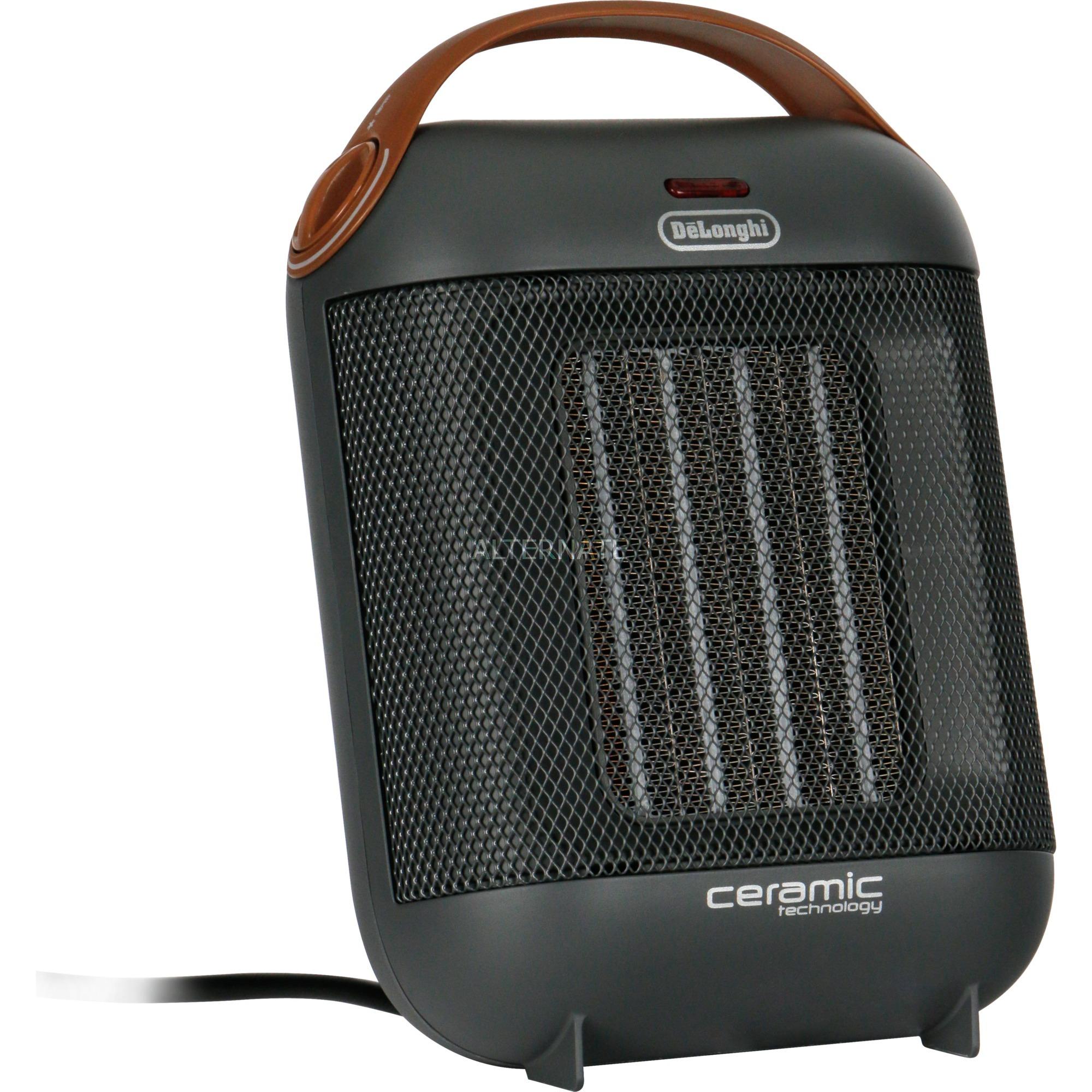 HFX30C18.AG Interior Negro, Gris 1800W Calentador eléctrico de ventilador calefactor eléctrico, Termoventiladores