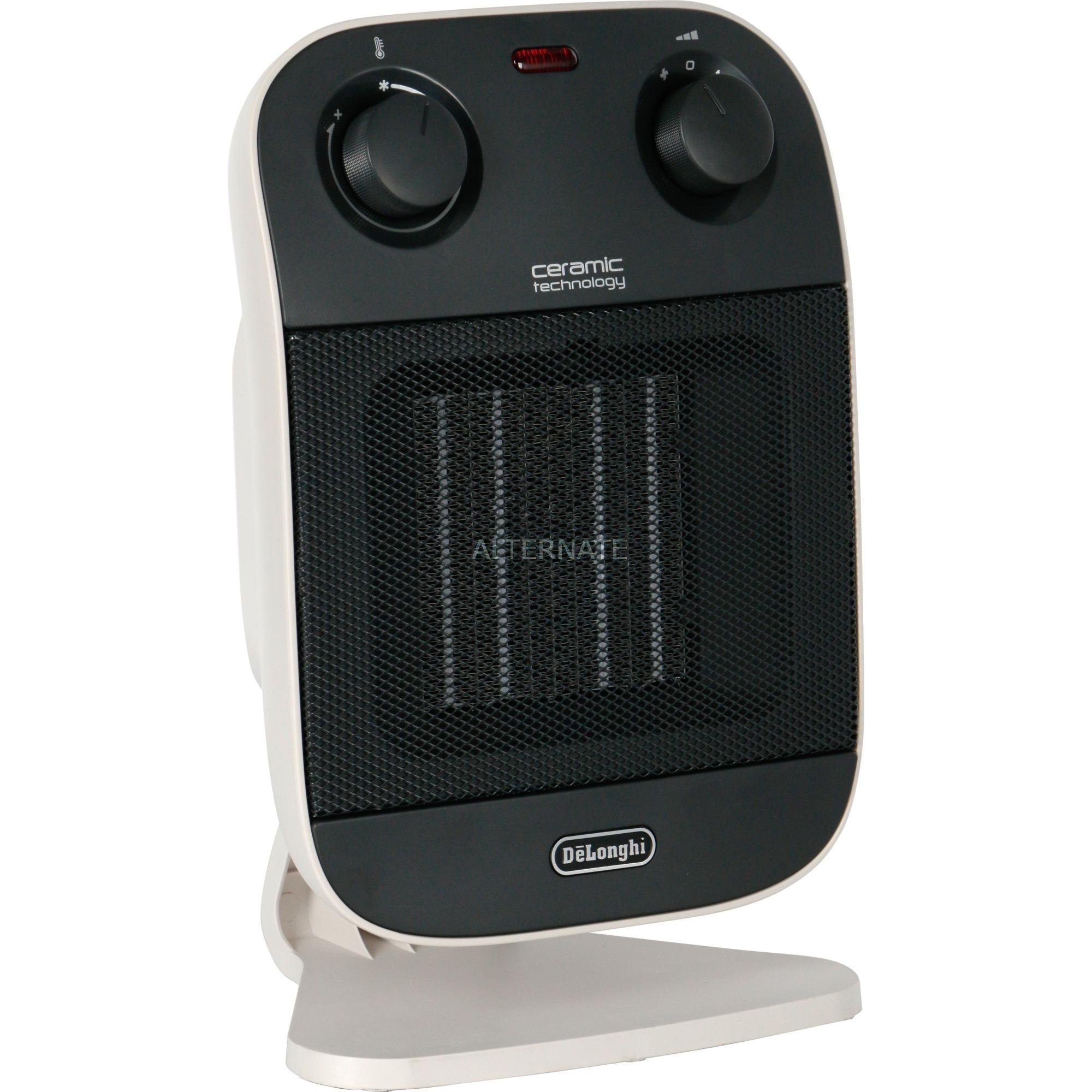 HFX60C20 Interior Negro, Blanco 2000W Calentador eléctrico de ventilador, Termoventiladores