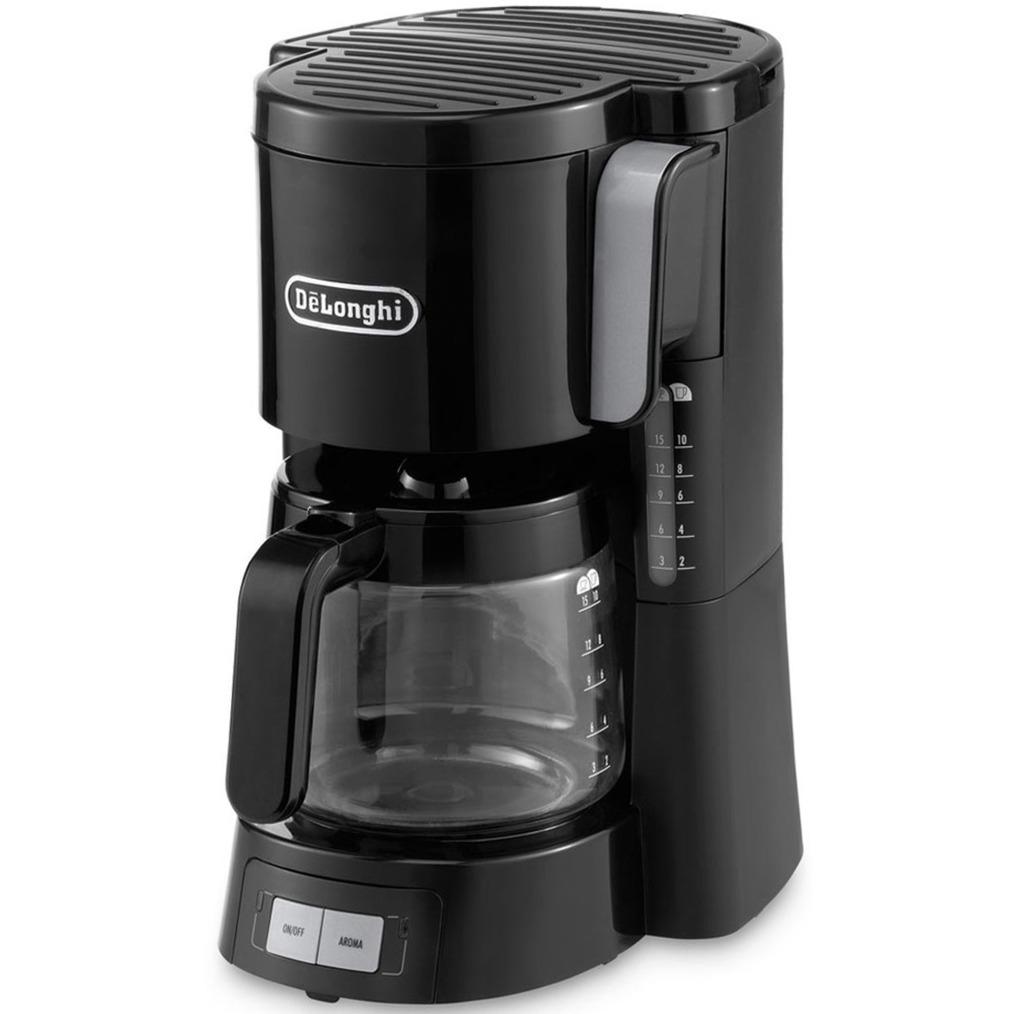 ICM15240 Cafetera de filtro 10tazas Negro, Acero inoxidable