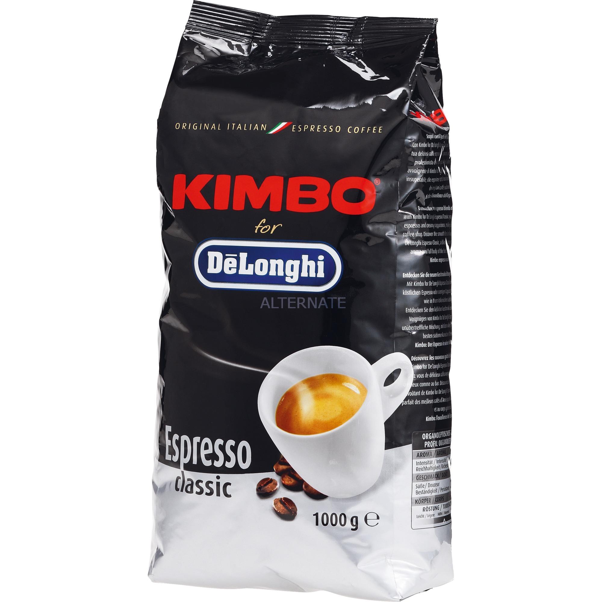 Kimbo Espresso Classic 1000g, Café