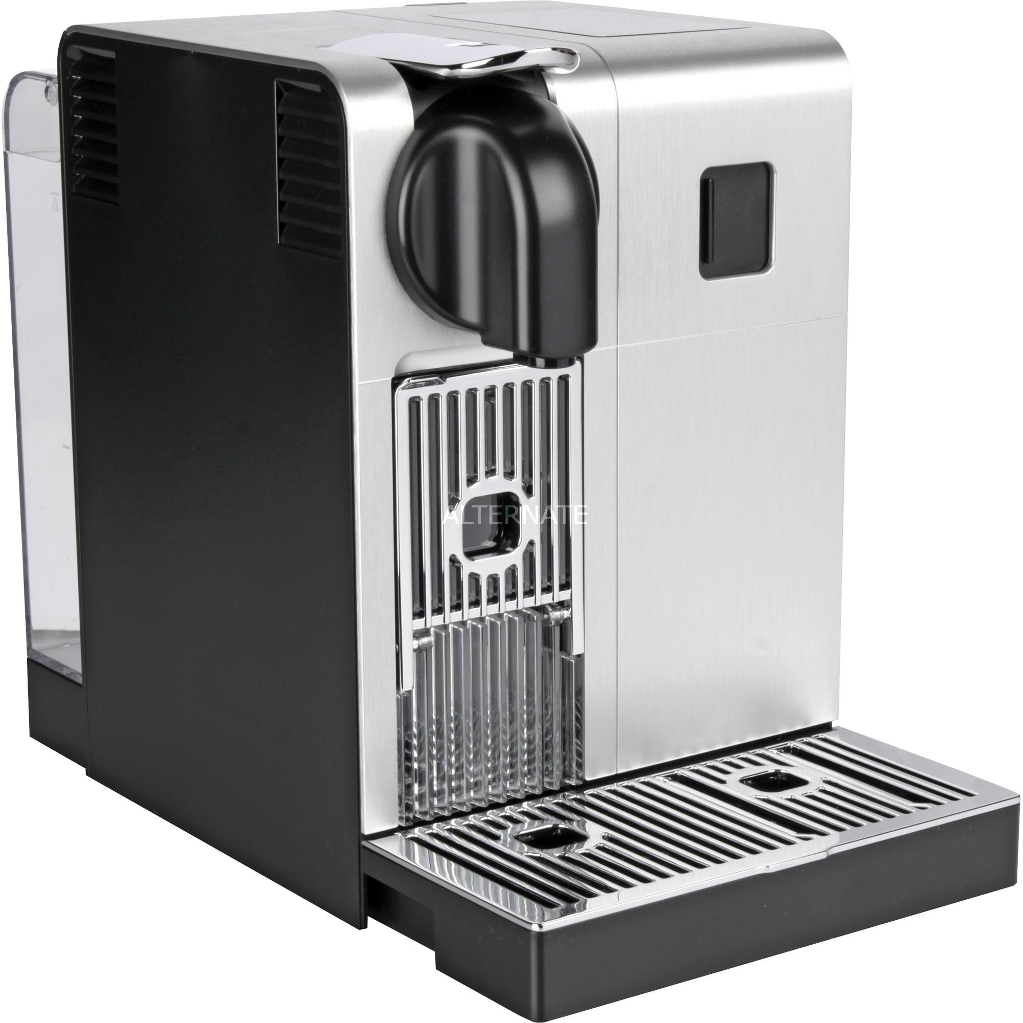 Lattissima Pro EN 750.MB Independiente Totalmente automática Máquina de café en cápsulas 1.3L Aluminio, Negro, Cafetera de cápsulas
