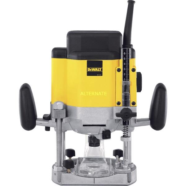 DW624 0 - 20000RPM 1600W Negro, Amarillo router eléctrico, Fresadora
