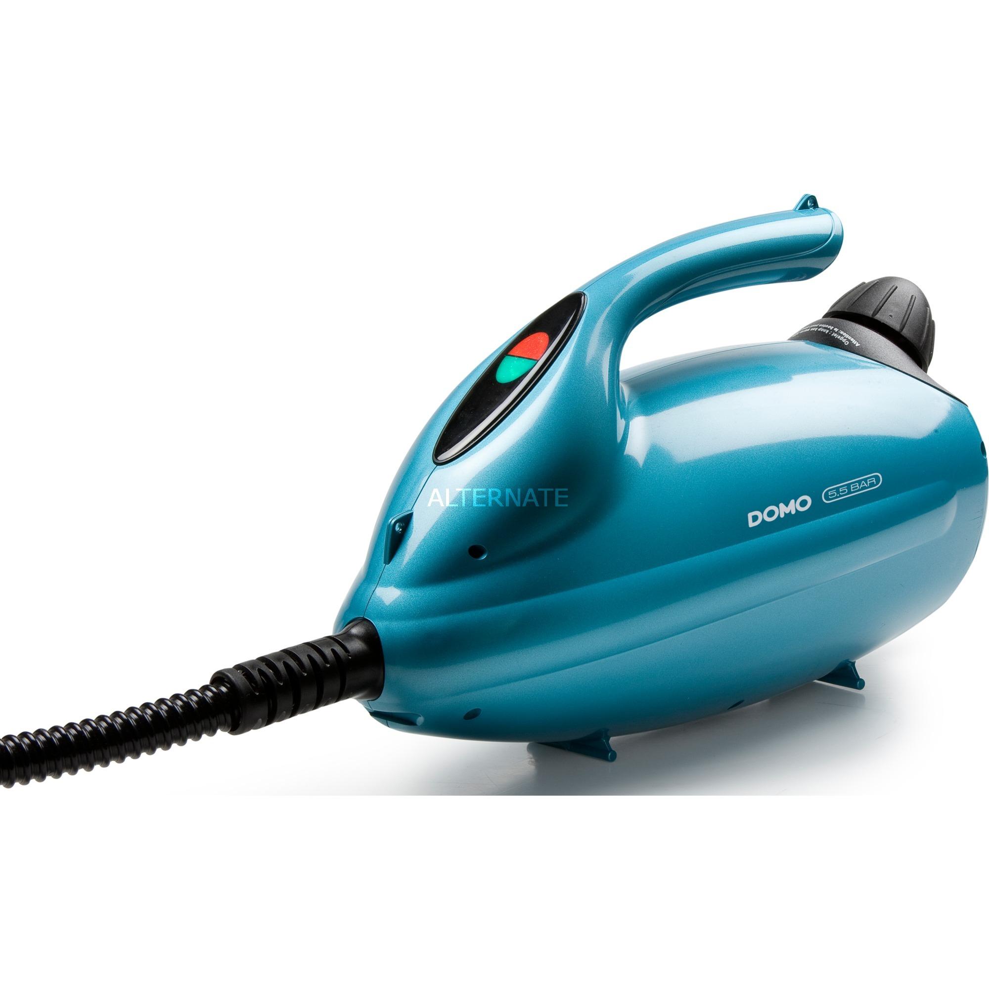 DO231SR limpiador a vapor Limpiador a vapor portátil 1,5 L Azul 2000 W, Limpiador de vapor