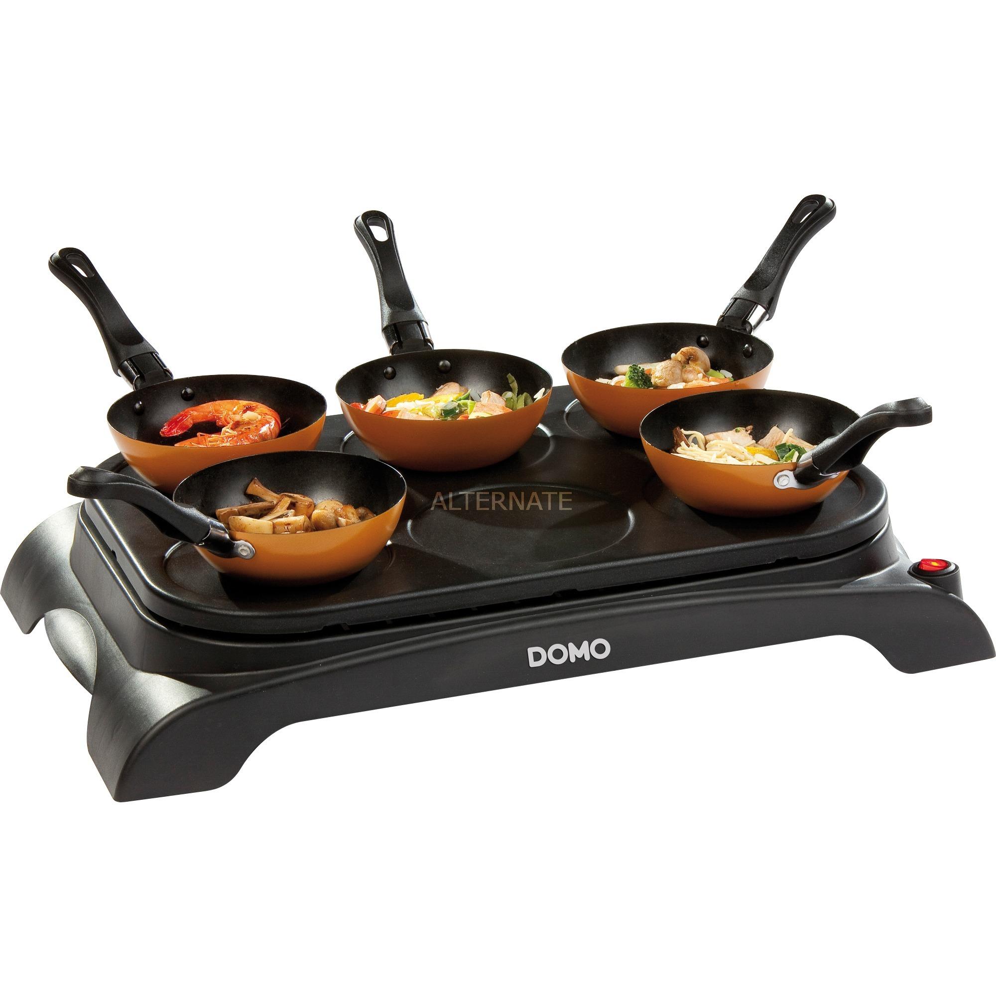 DO8706W Negro 1000W wok eléctrico