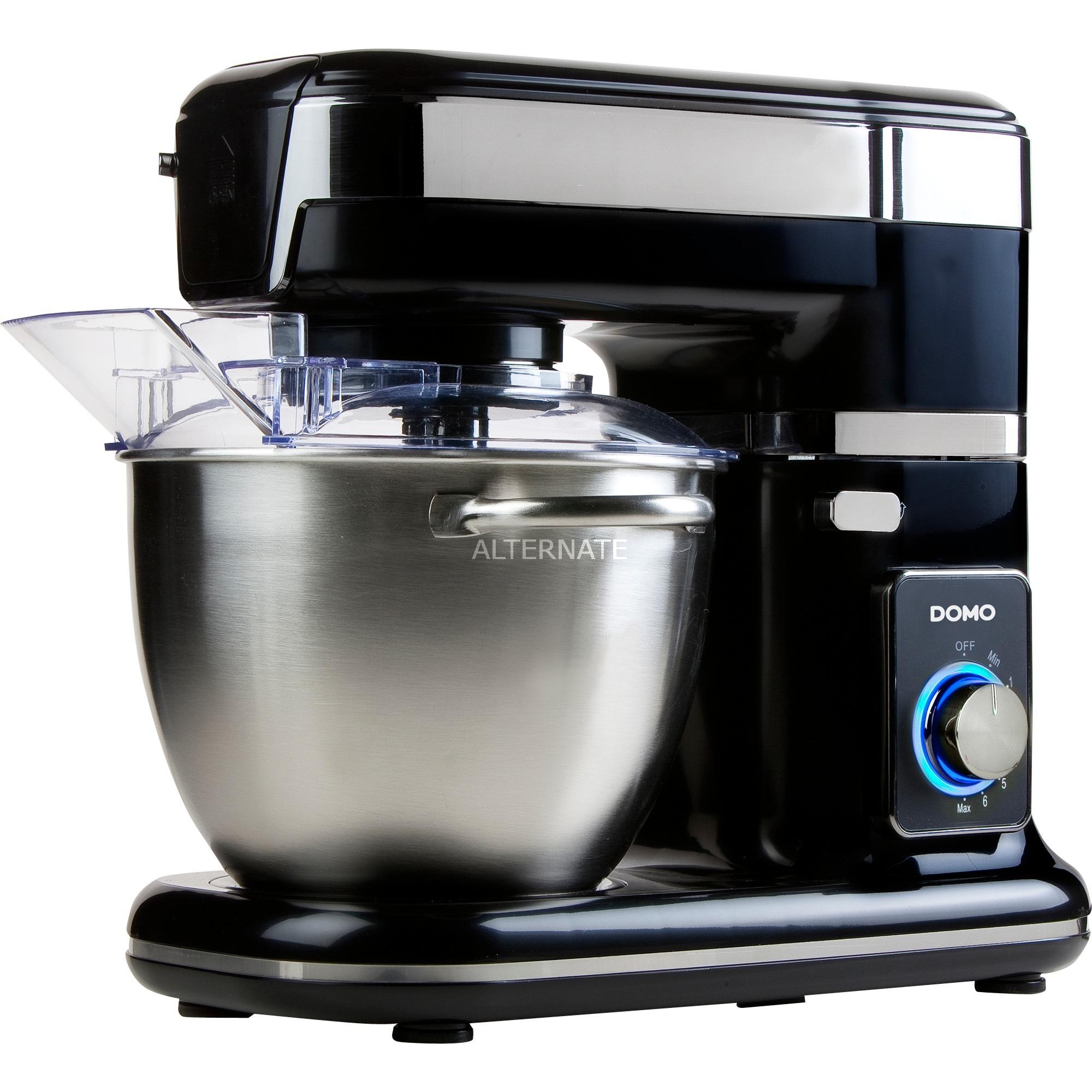 DO9077KR robot de cocina 4,5 L Negro, Metálico 1000 W