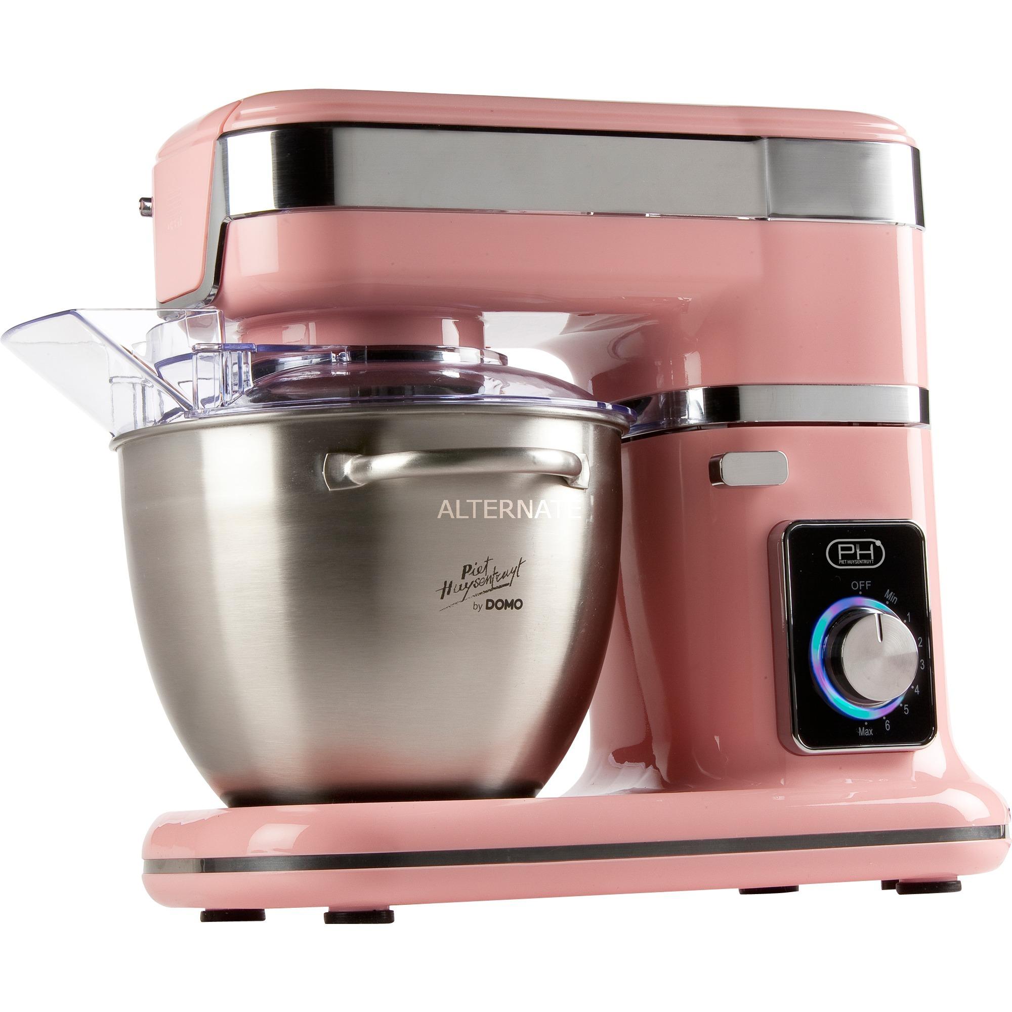 DO9114KR 1000W 4.5L Rosa, Acero inoxidable robot de cocina