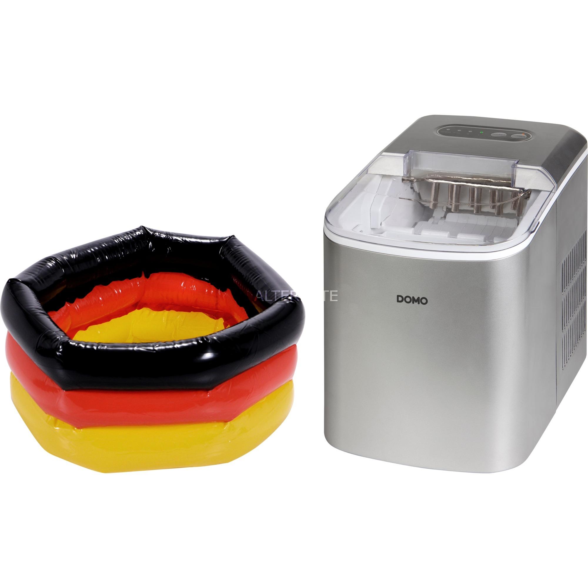 DO9200IB máquina de cubo de hielo Built-in/freestanding ice cube maker 12 kg/24h Acero inoxidable, Preparador de cubitos de hielo