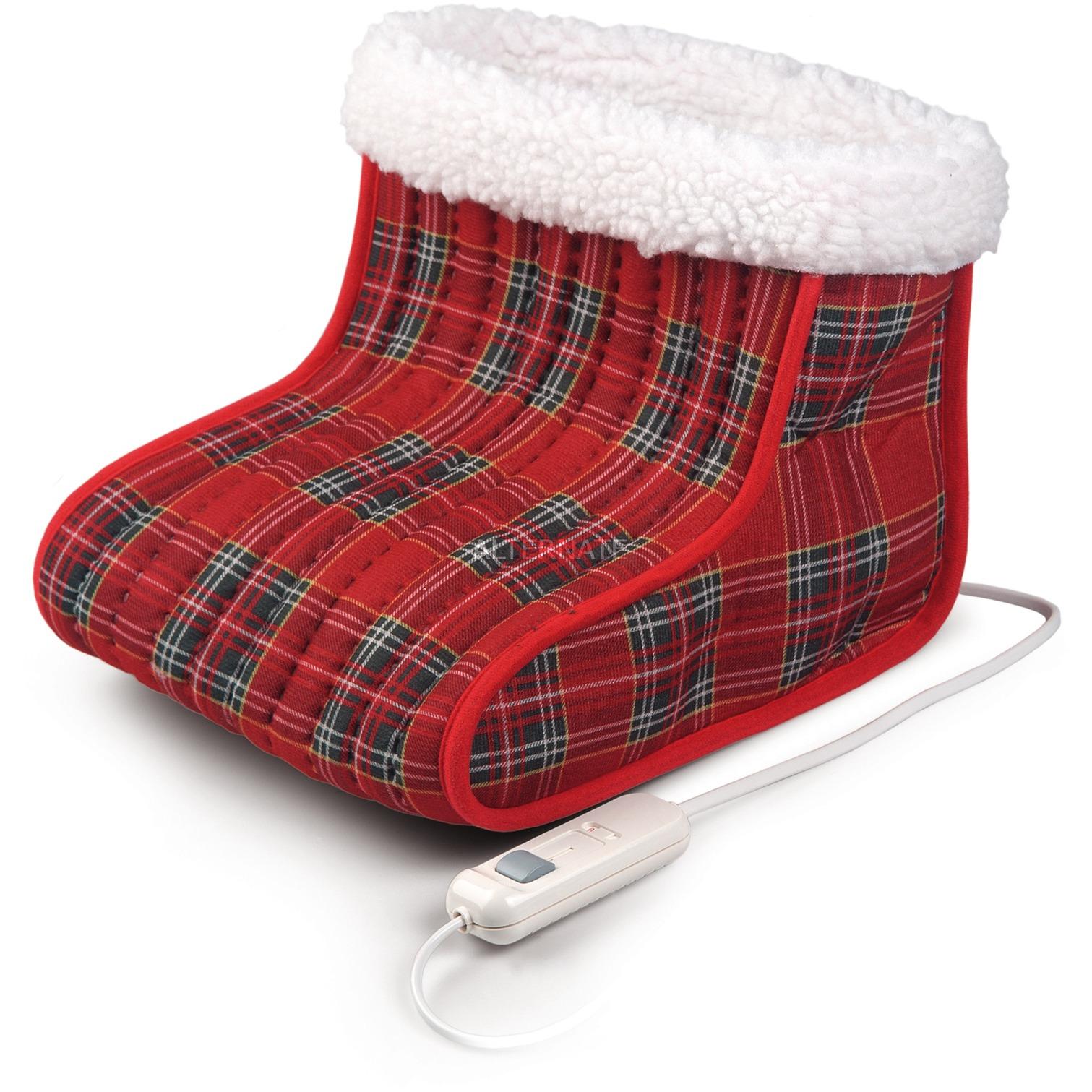DO 632 V 40W Rojo calentador de pies eléctrico, Calientapiés