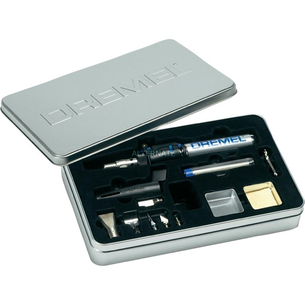 VersaTip 2000-6 Gas soldering iron 1200 °C Black, Acero inoxidable, Soplete de soldar