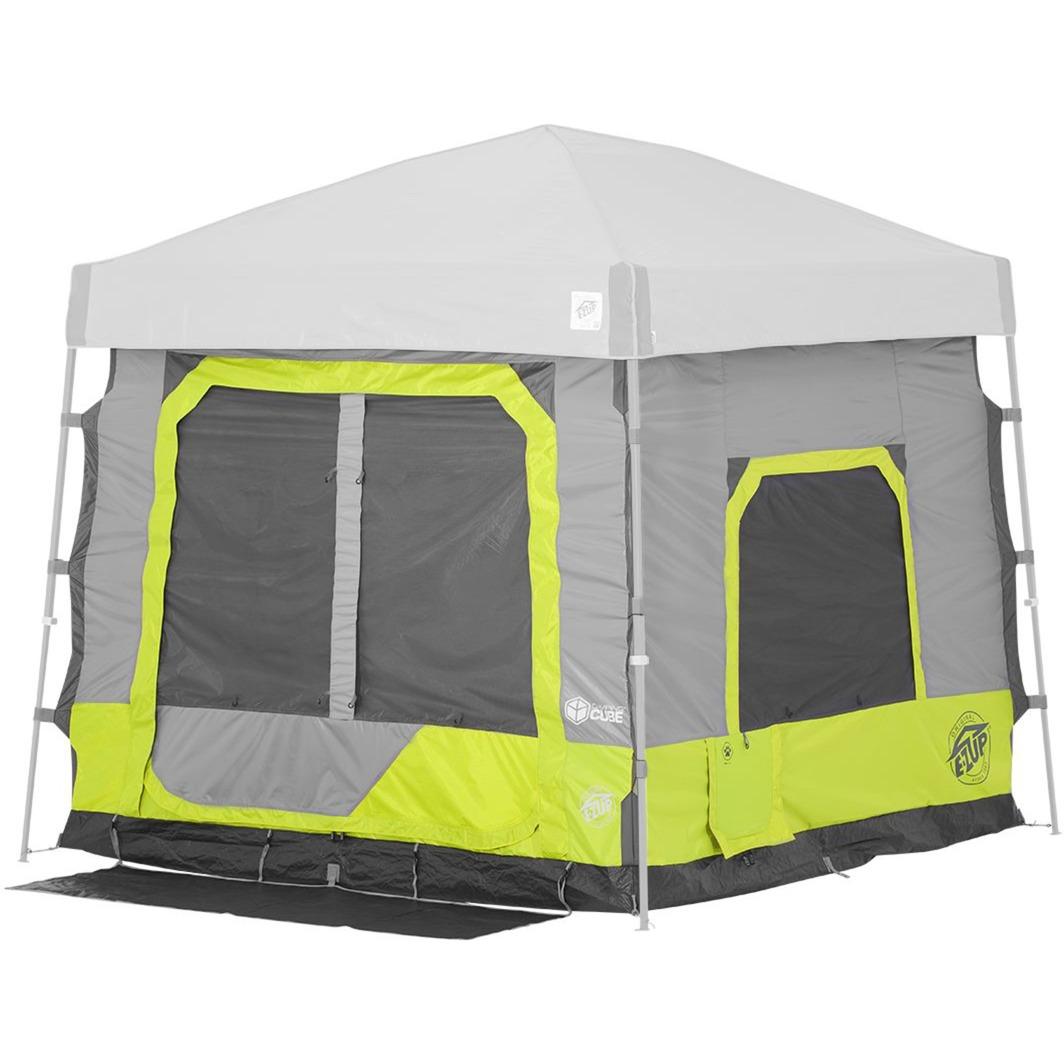 Camping Cube 5.4 Angled, Limeade, Tienda de campaña
