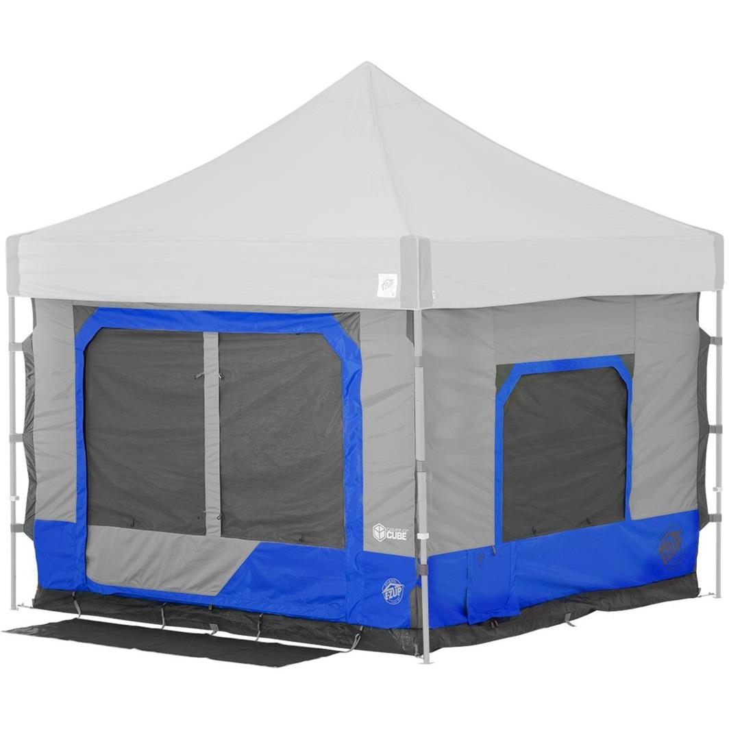 Camping Cube 6.4 Straight, Royal Blue, Tienda de campaña
