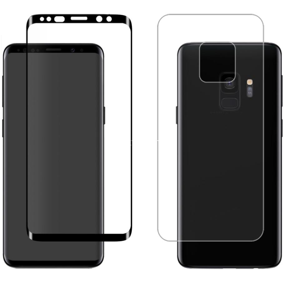 """3D 360 GLASS funda para teléfono móvil 14,7 cm (5.8"""") Transparente, Película protectora"""