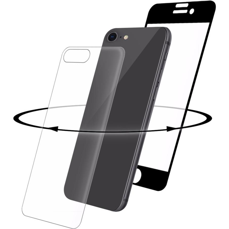 3D 360 GLASS iPhone 8 Protector de pantalla 1pieza(s), Película protectora