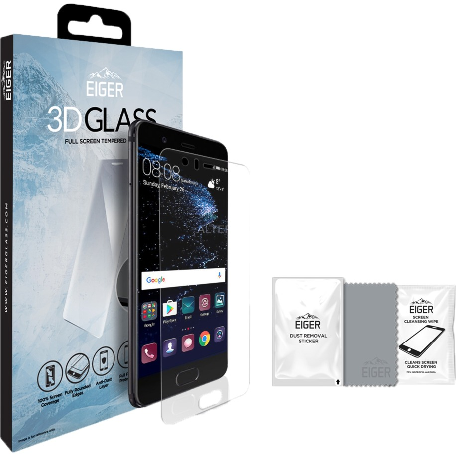 3D GLASS Protector de pantalla P10 1 pieza(s), Película protectora