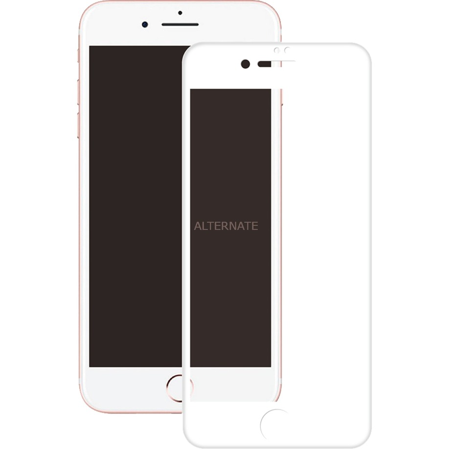 3D GLASS Protector de pantalla iPhone 8/7 Plus 1 pieza(s), Película protectora