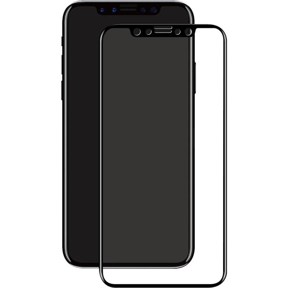 3D GLASS iPhone X Protector de pantalla 1pieza(s), Película protectora