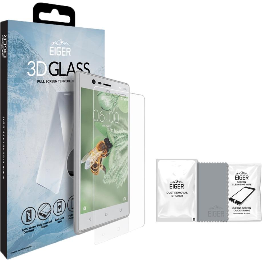 EGSP00132 protector de pantalla Teléfono móvil/smartphone Nokia 1 pieza(s), Película protectora