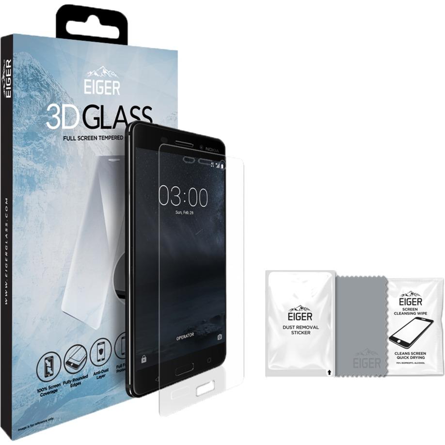 EGSP00134 protector de pantalla Teléfono móvil/smartphone Nokia 1 pieza(s), Película protectora