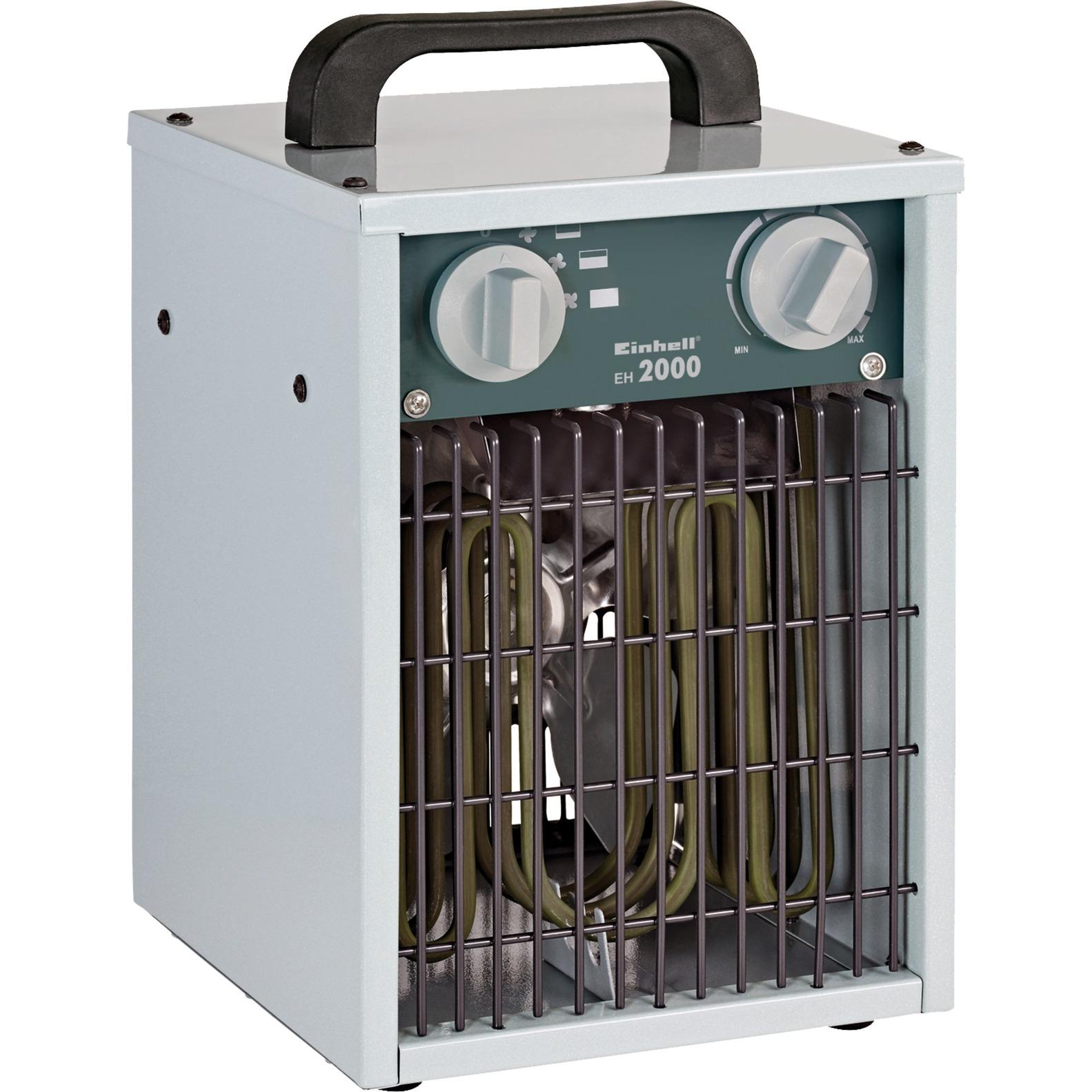 2338280 calefactor eléctrico Radiador / ventilador Interior Gris 2000 W, Termoventiladores