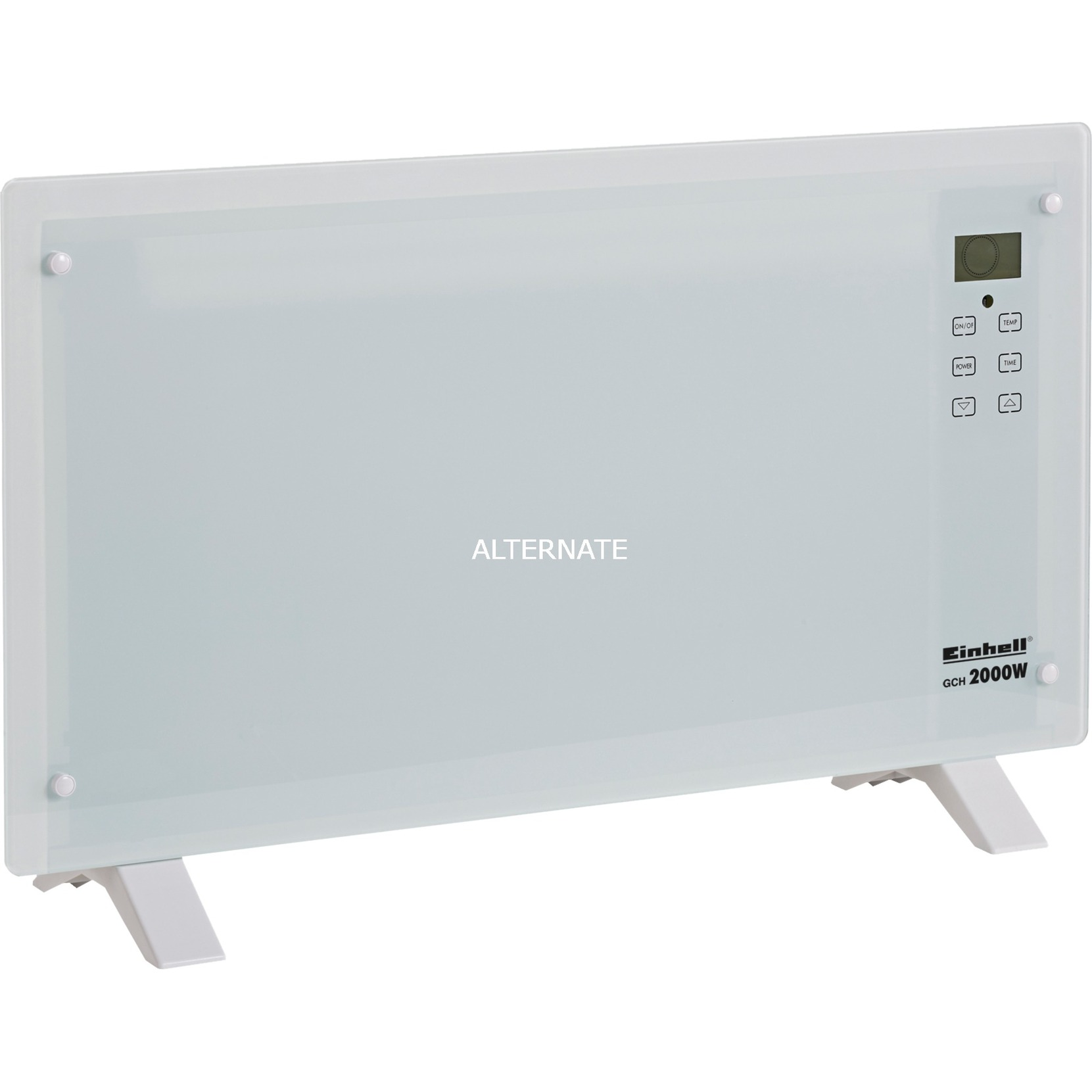 2338661 calefactor eléctrico Radiador Interior Blanco 2000 W, Convector de pie