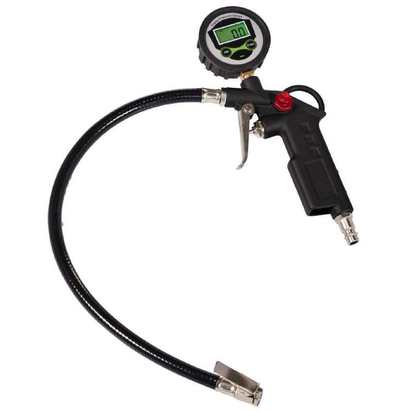 4133115 manómetro para neumáticos Manómetro digital 0 - 13 bar, Equipos de llenado de neumáticos