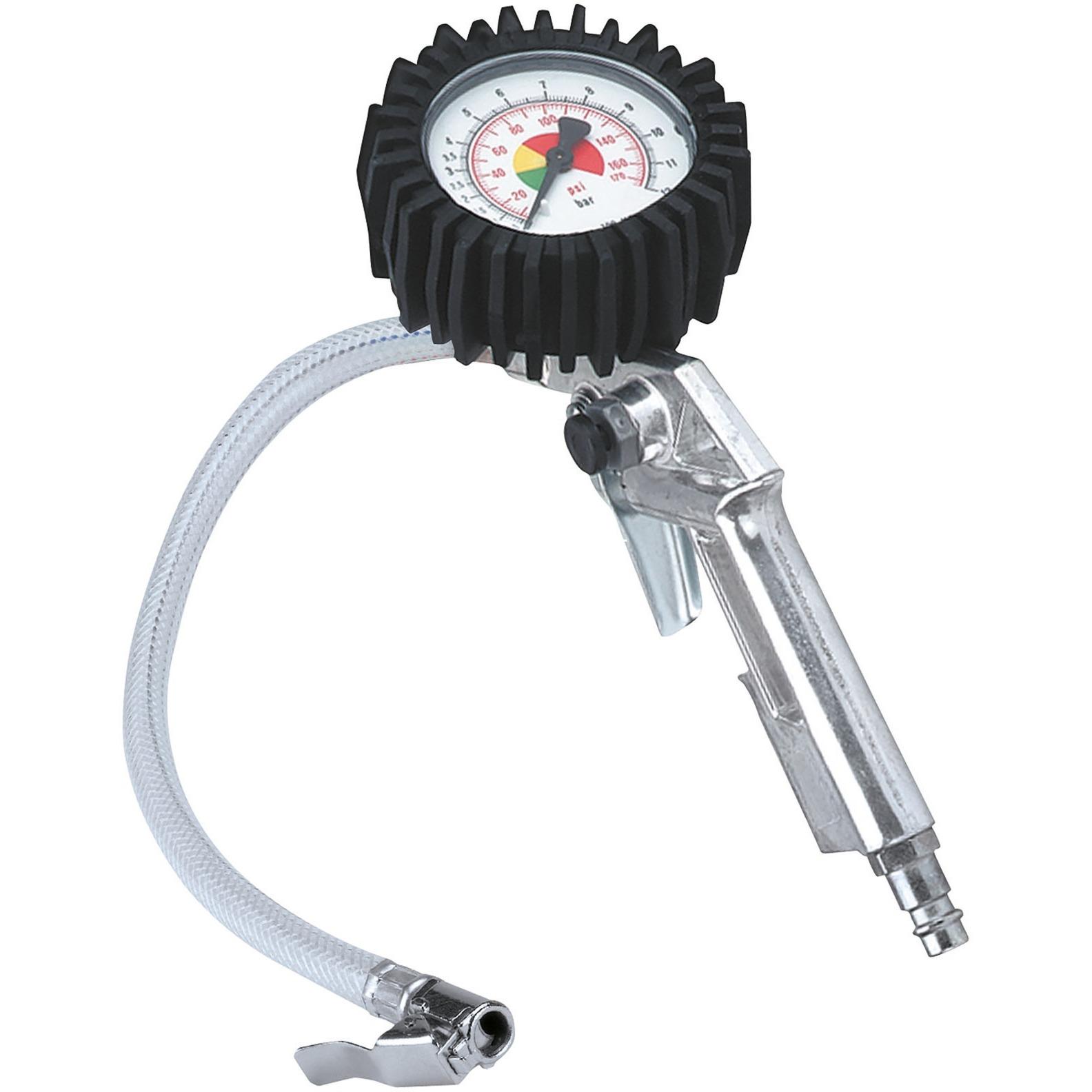 4137000 manómetro para neumáticos Manómetro analógico 0 - 8 bar, Equipos de llenado de neumáticos