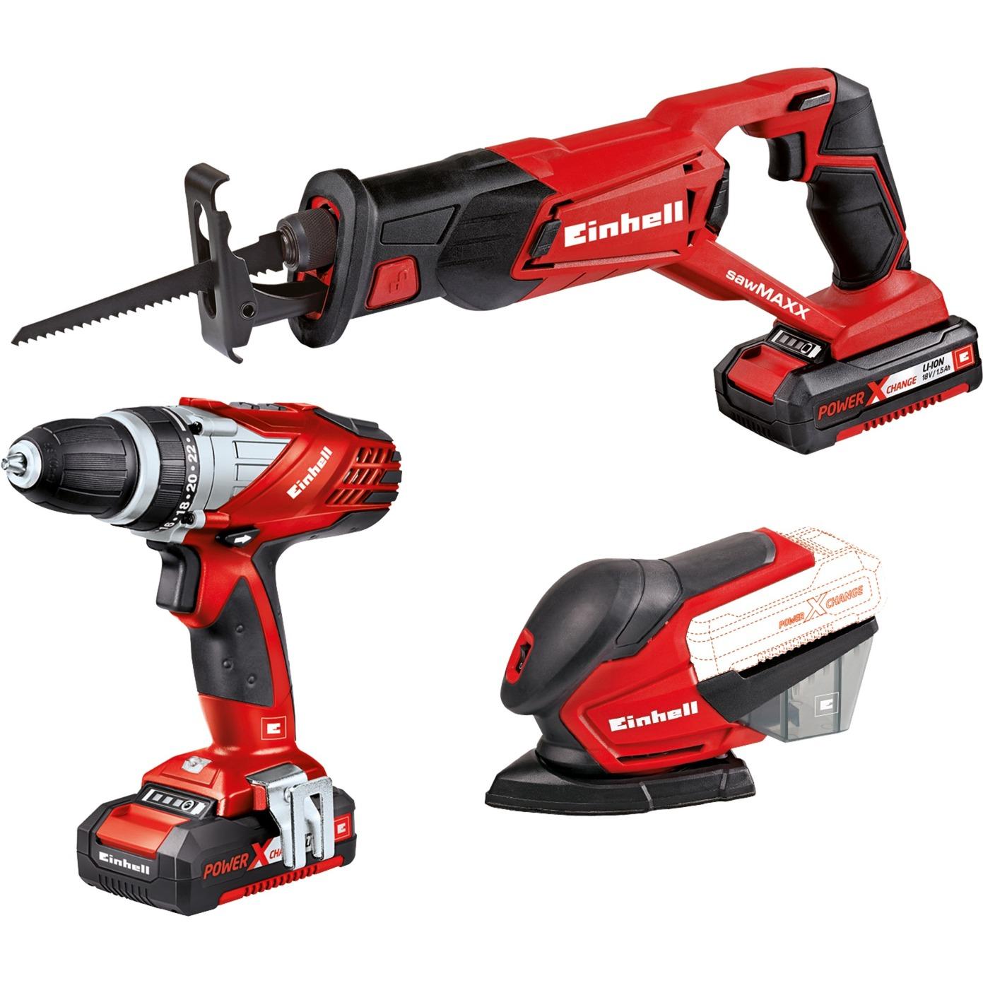 4257195 Rojo multiherramienta eléctrica, Kit de herramientas