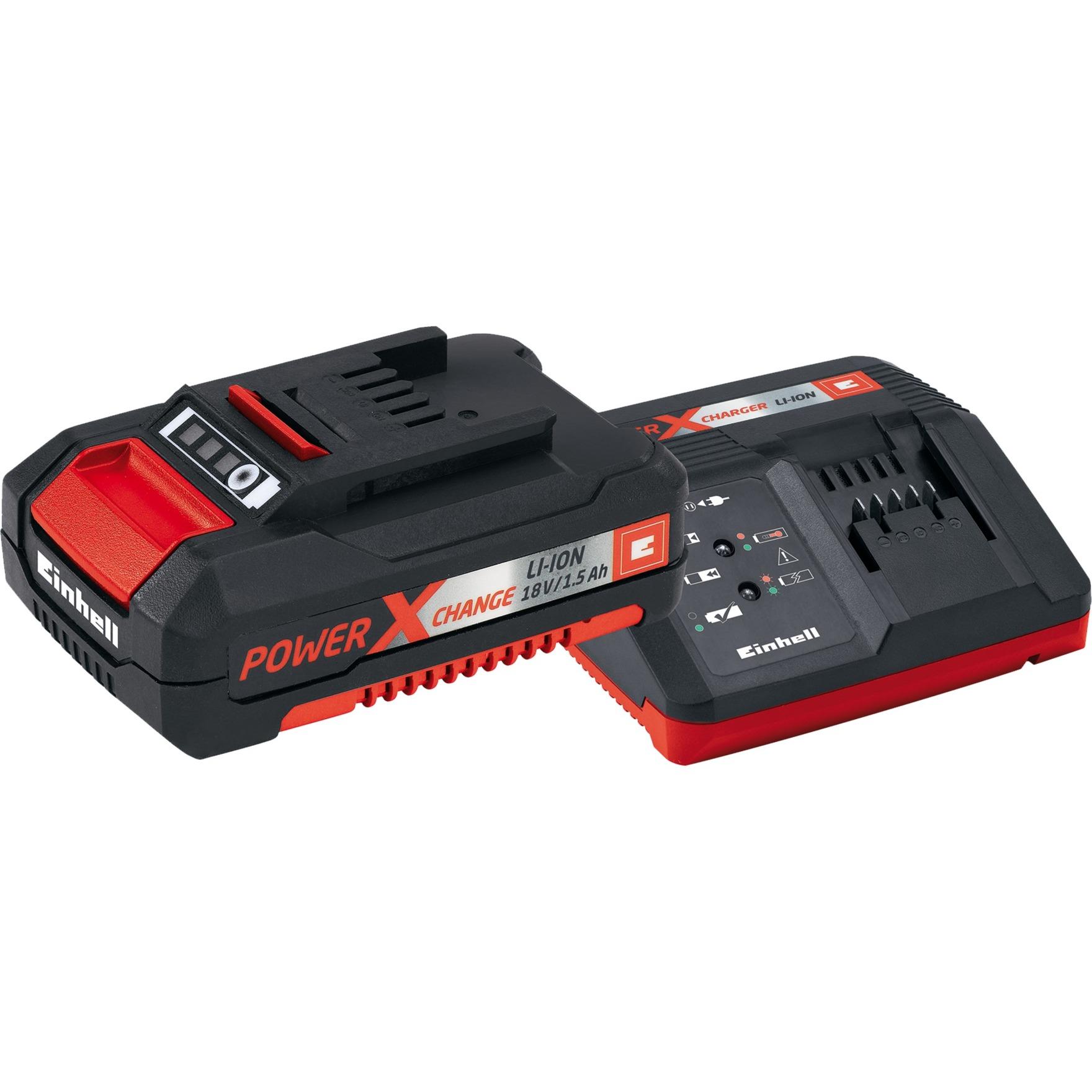 4512021 cargador de batería Negro, Rojo
