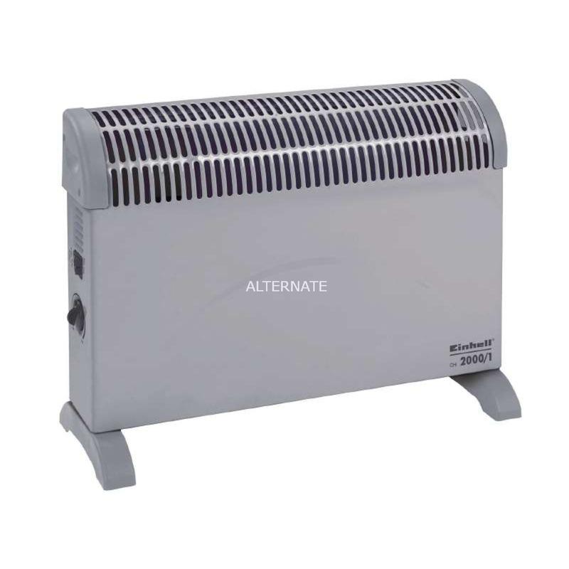 CH 2000/1 Calentador de ventilador Interior Gris 2000 W, Convector de pie