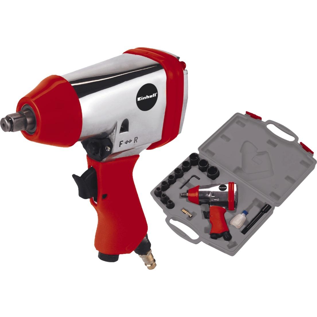 DSS 260/2 Destornillador de carraca neumático 114 l/min 312 Nm 6,3 bar Aluminio, Negro, Rojo, Tornillo de percusión