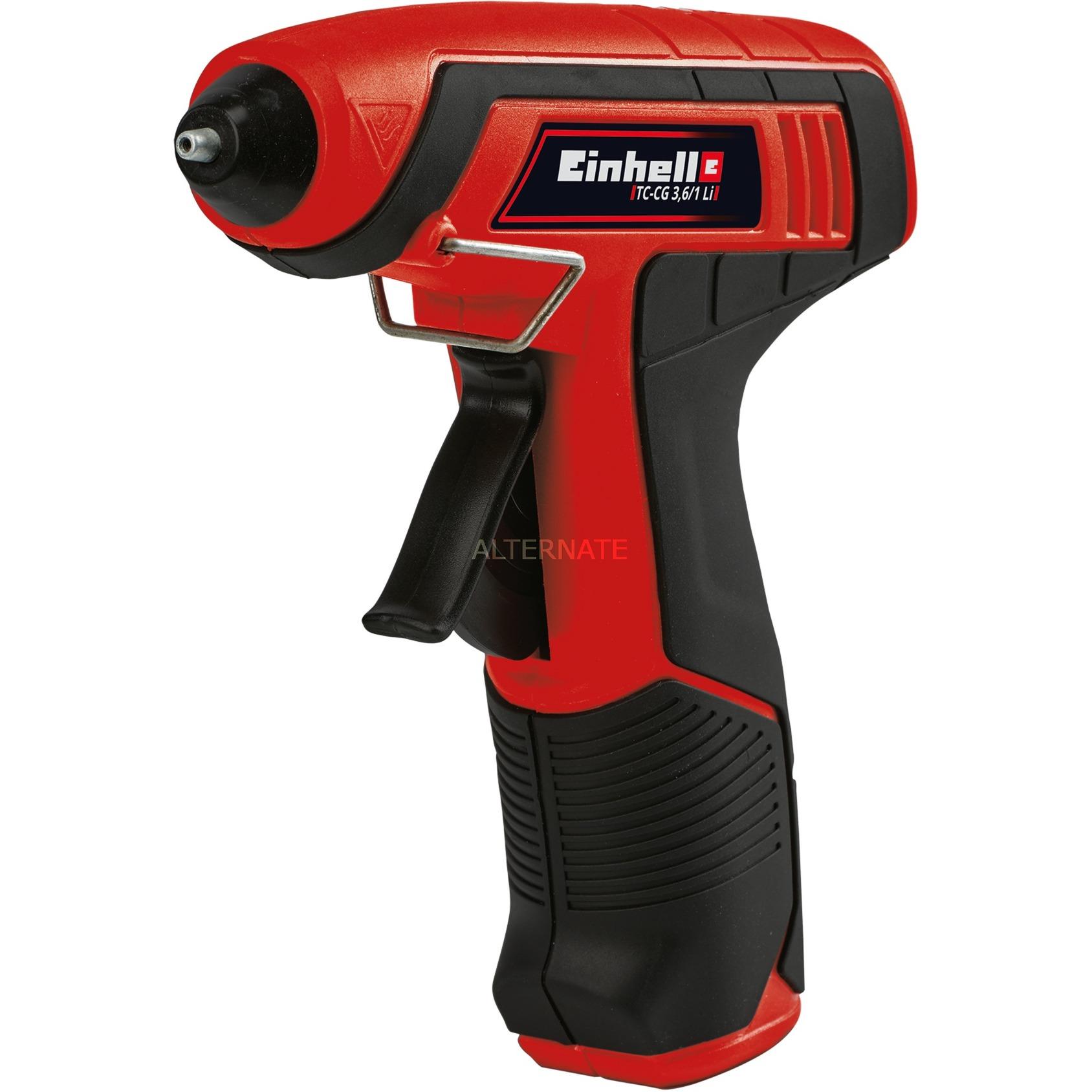 TC-CG 3.6/1 Li hot glue gun/pen Negro, Rojo, Pistolas termoencoladoras