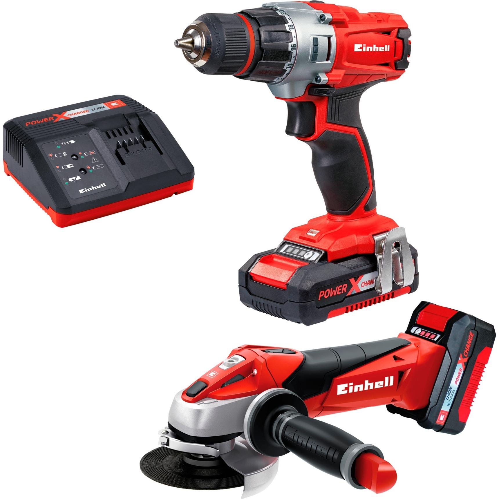 TE-TK 18 Li Kit Negro, Gris, Rojo, Kit de herramientas