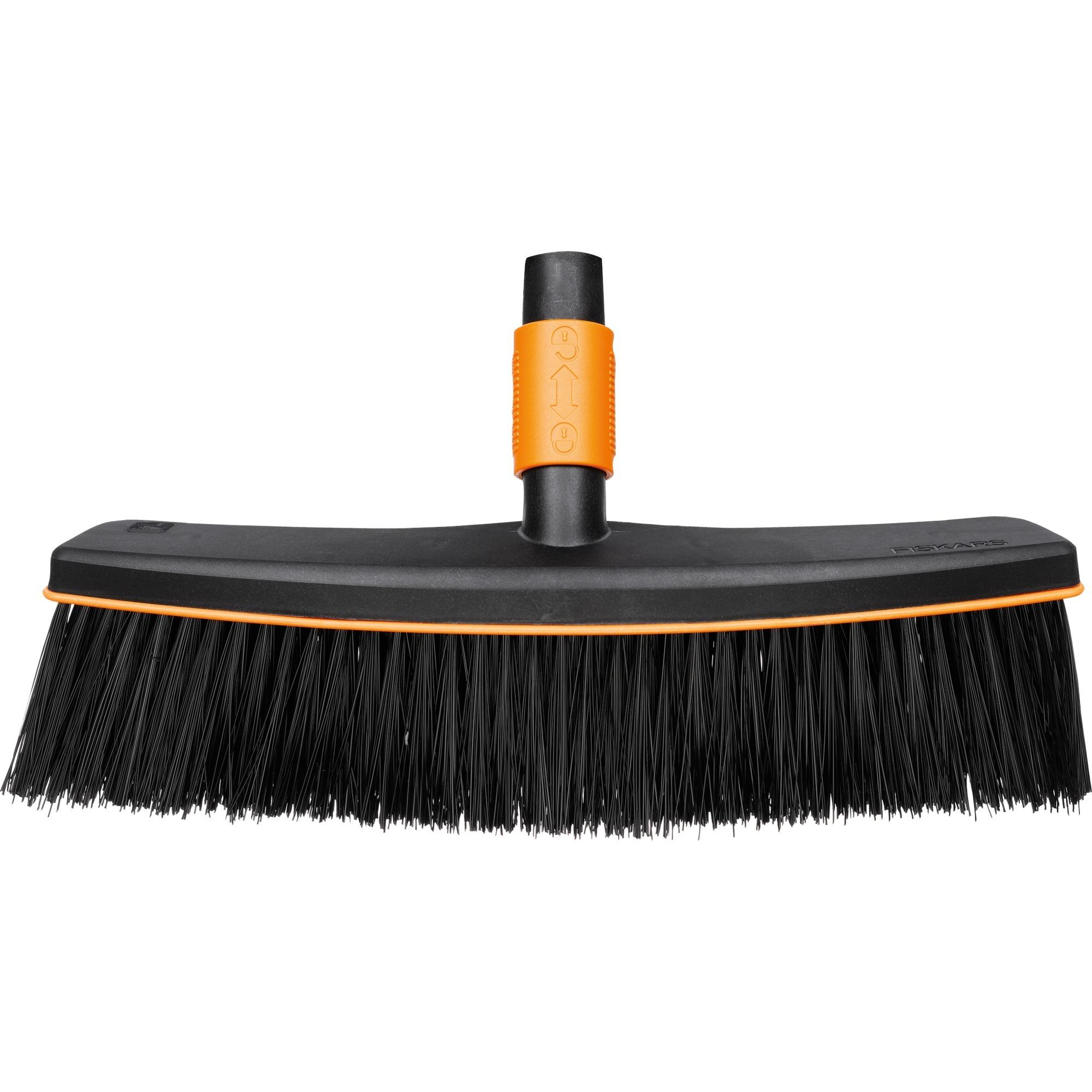 1001416 escoba Negro, Naranja De plástico