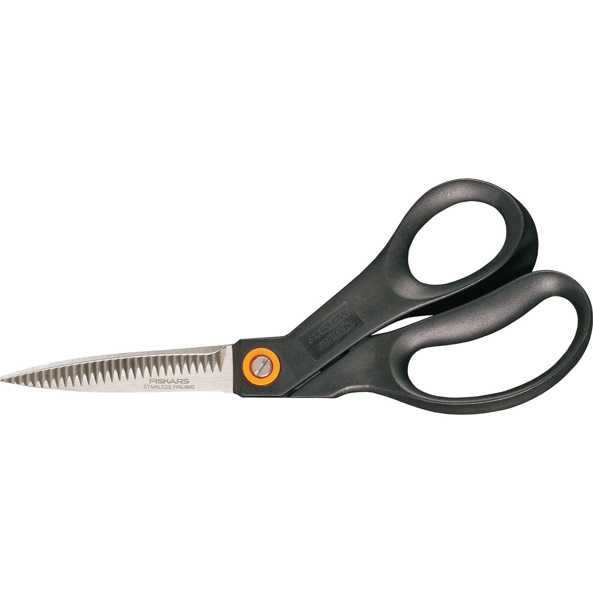 1001544 Universal Corte recto Negro, Naranja tijera de escritorio y manualidades, Tijeras