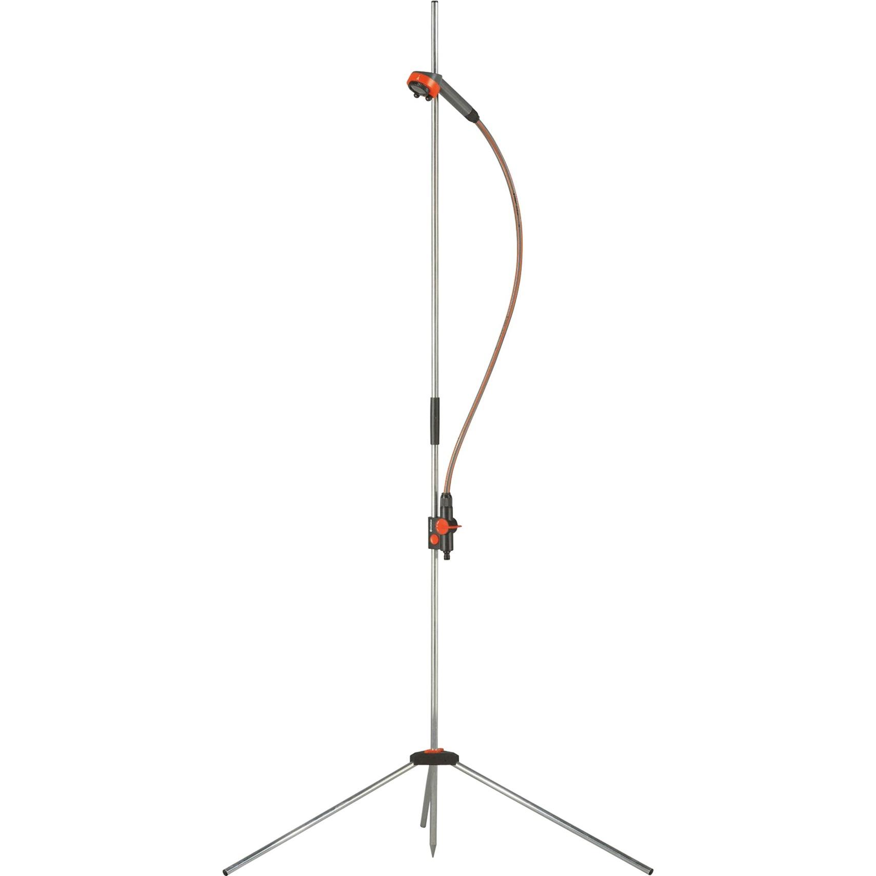 00960-20 1head(s) Negro, Naranja, Plata sistema de ducha, Ducha exterior